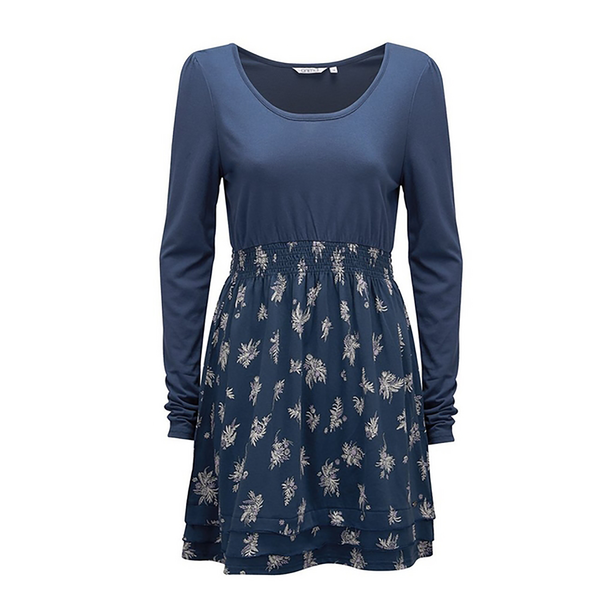 Animal-Vestido-tejido-jersey-waves-Modelo-Freckle-mujer-senora