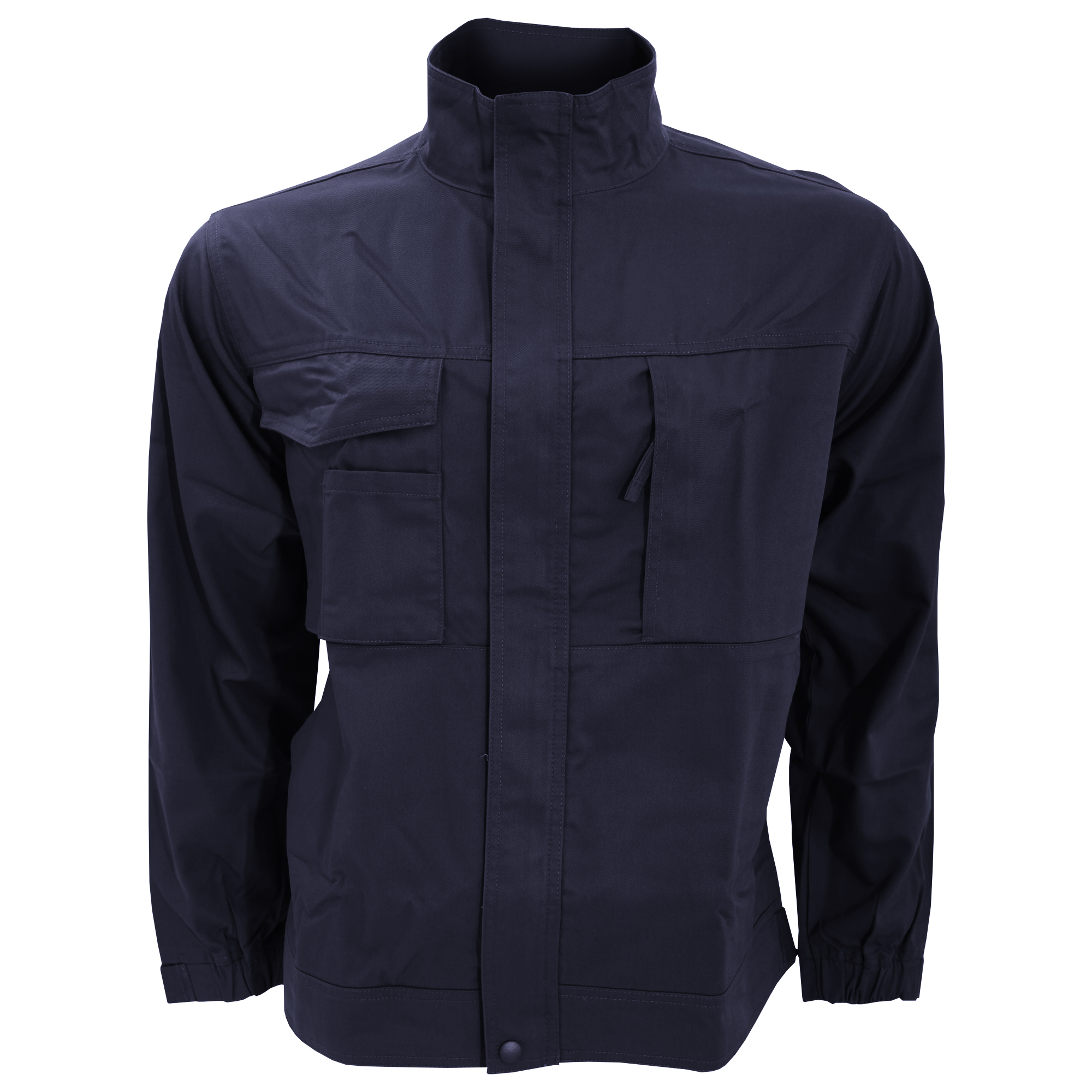 Russell Workwear Mens Plain Casual Zip Up Twill Work
