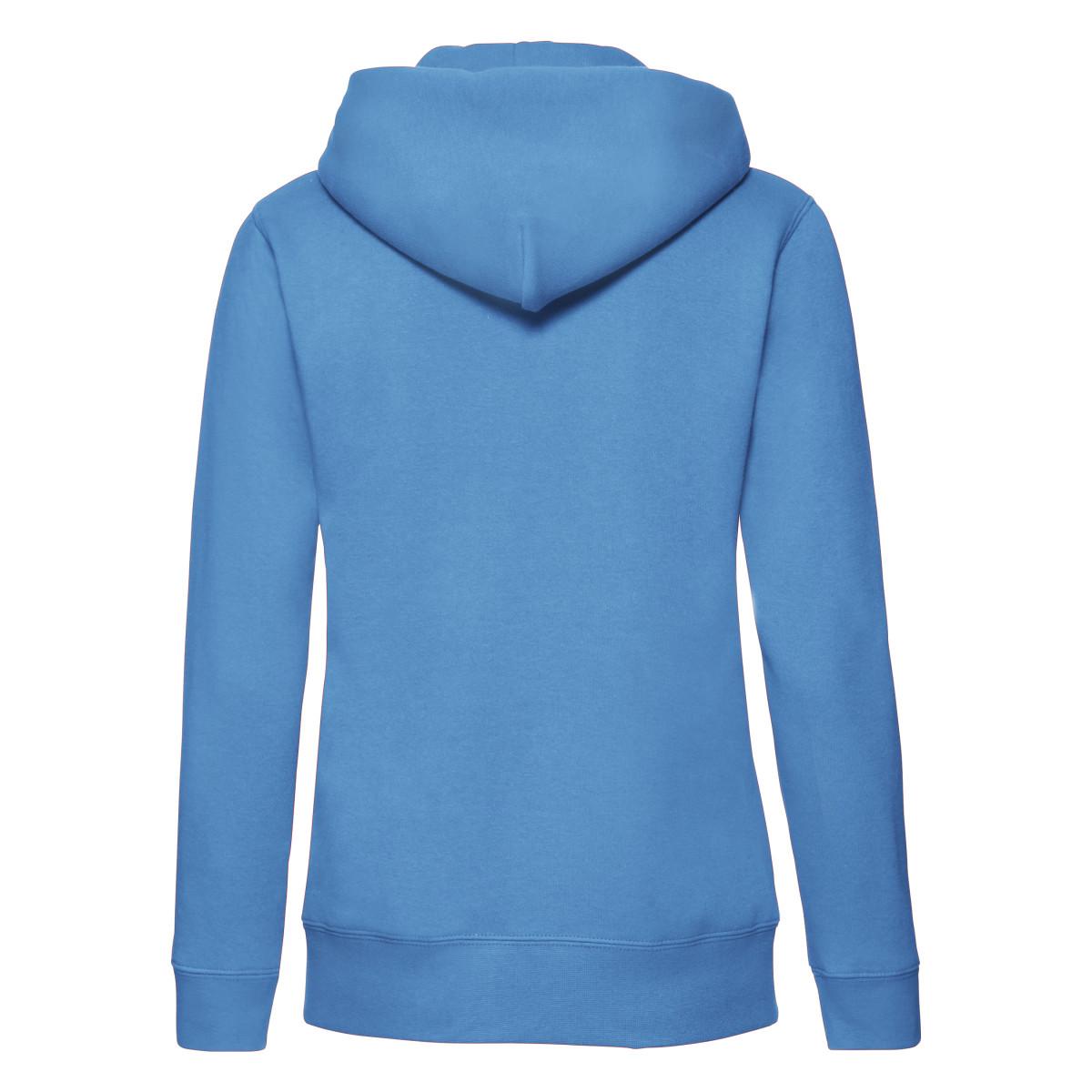 fruit of the loom womens ladies lady fit hooded sweatshirt zip up jacket hoodie ebay. Black Bedroom Furniture Sets. Home Design Ideas