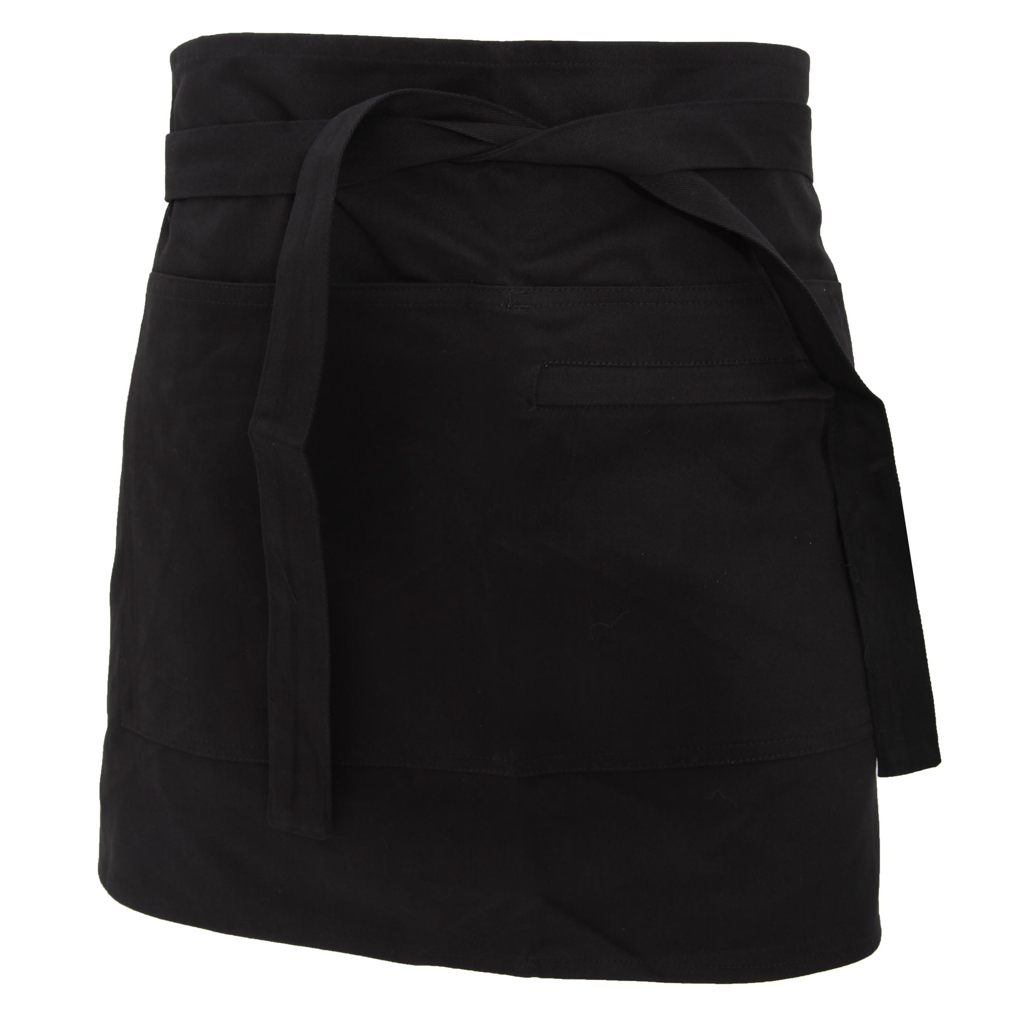 White tabard apron - Bargear Unisex Short Bar Apron Aprons And Tabards