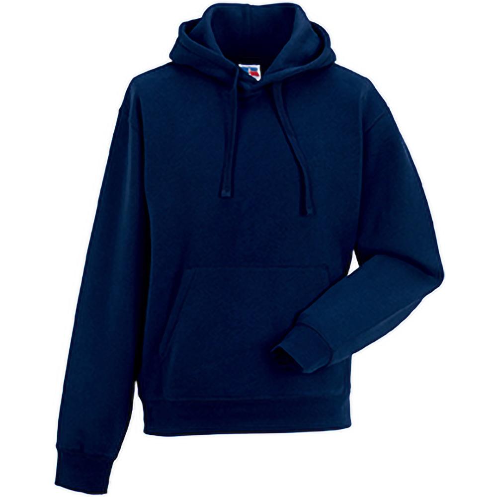 Russell Mens Authentic Hooded Sweatshirt Hoodie