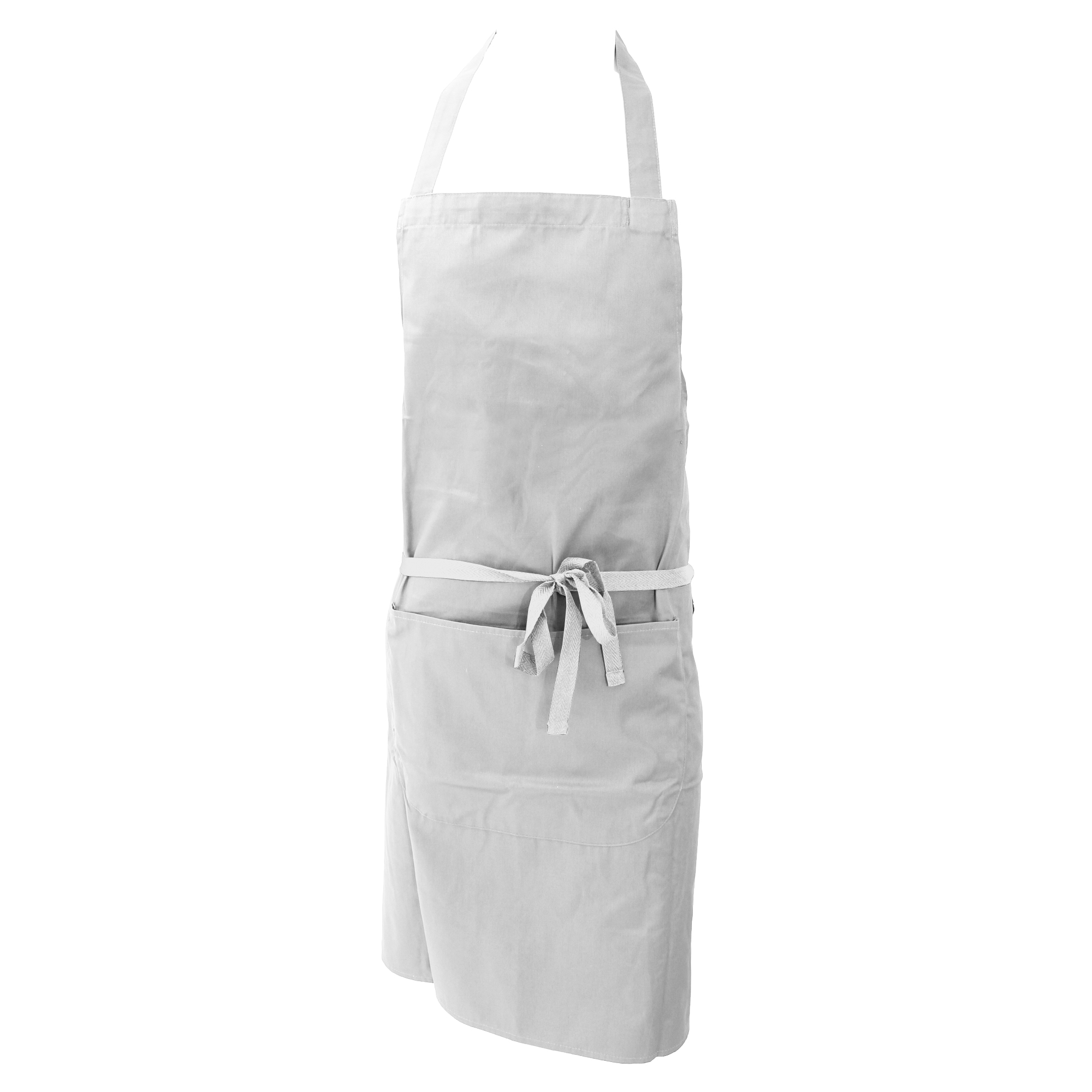 White apron ladies - Dennys Ladies Womens Polycotton Bib Workwear Apron With