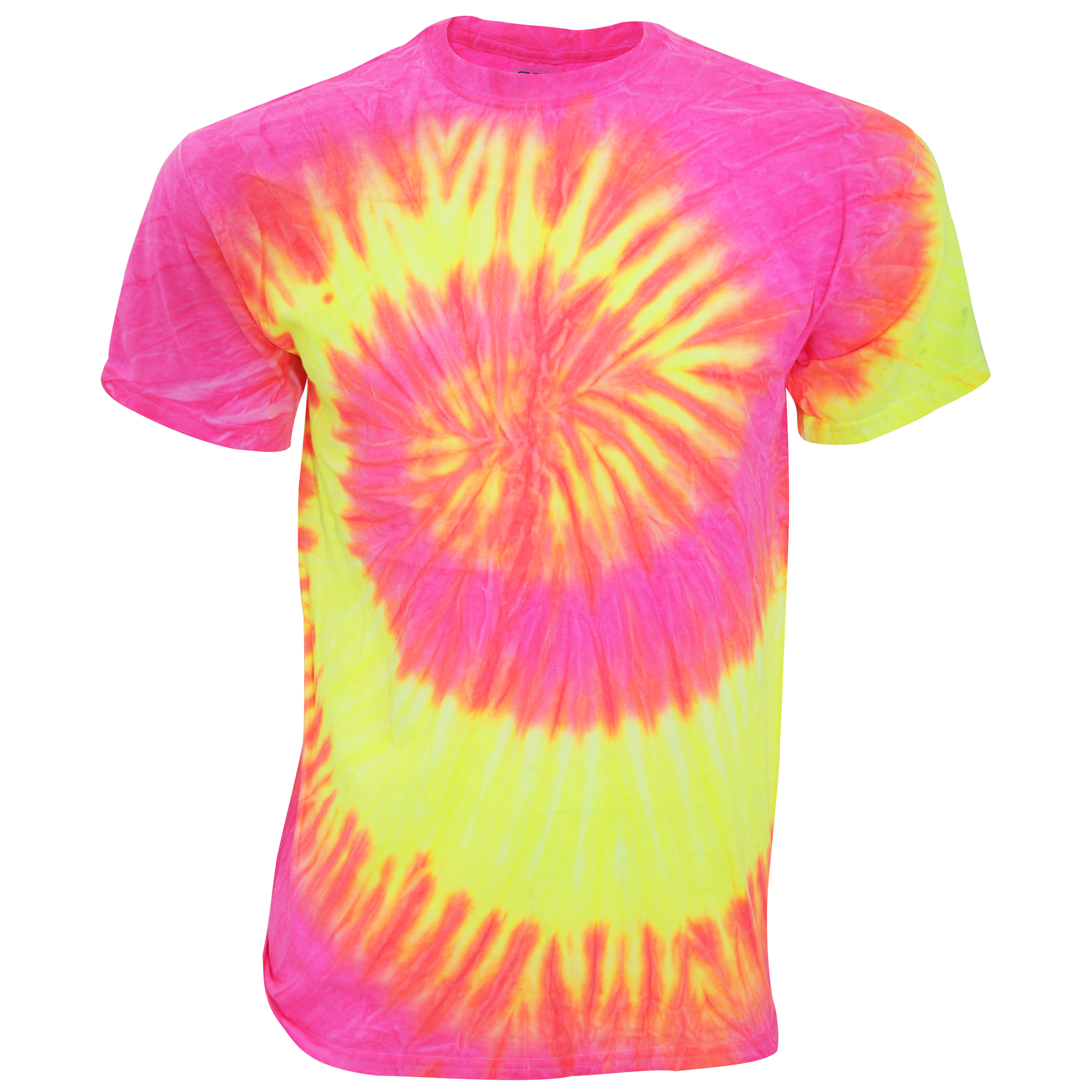 Tduk mens short sleeve rainbow tie dye t shirt for Nike tie dye shirt and shorts