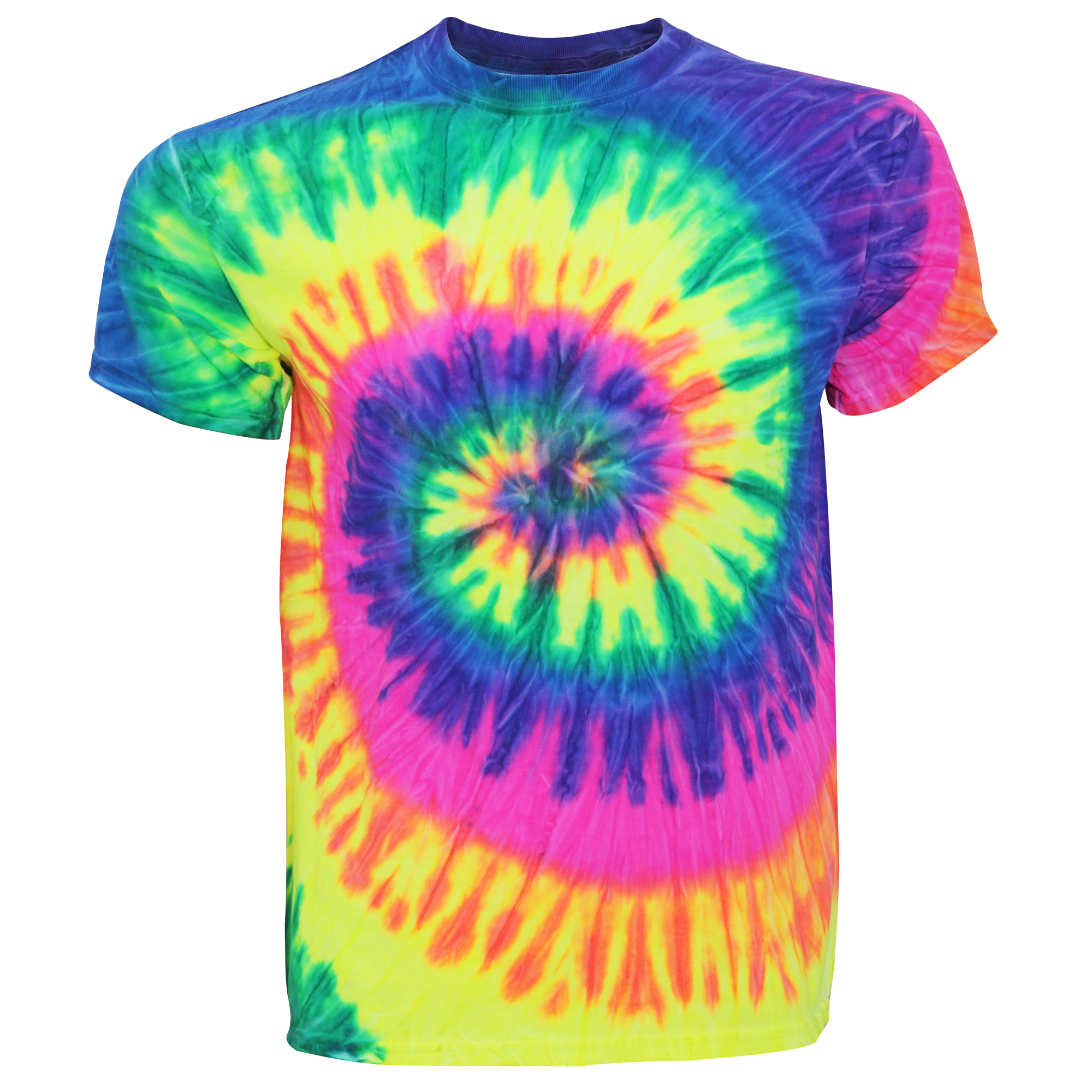 Tduk mens short sleeve rainbow tie dye t shirt ebay for Tie dye mens t shirts
