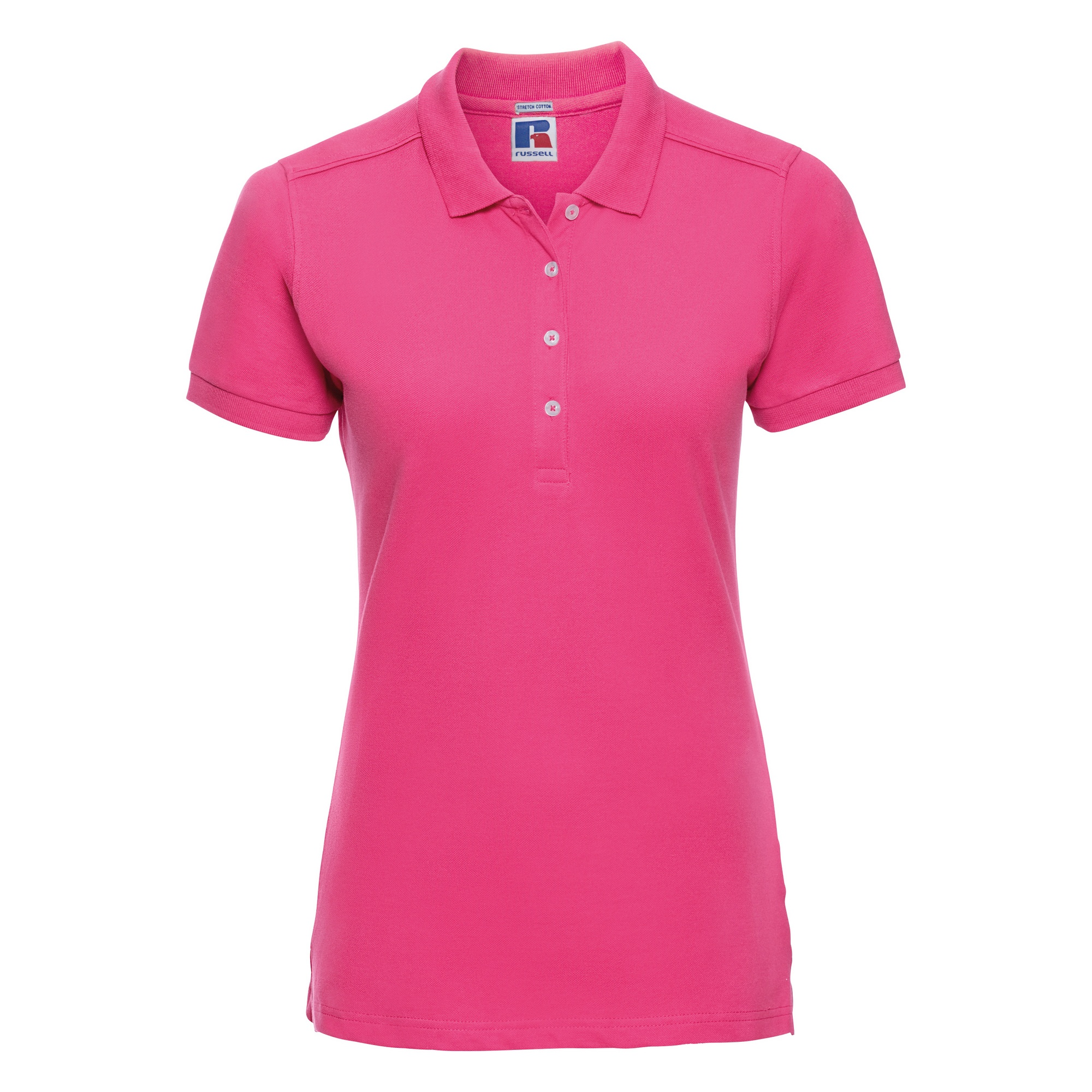 Russell Womens Ladies Stretch Short Sleeve Polo Shirt Ebay
