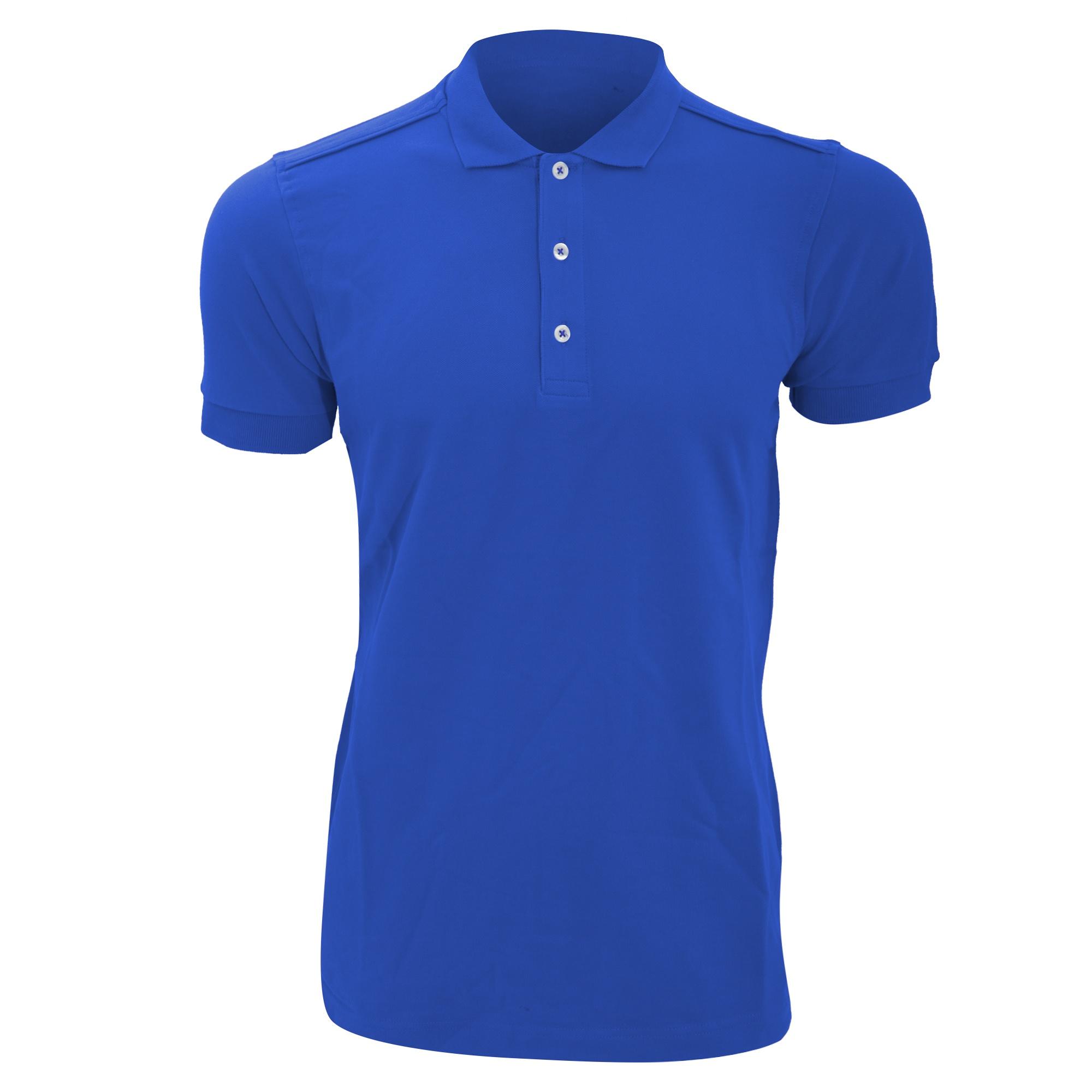 Russell Mens Stretch Short Sleeve Polo Shirt Ebay