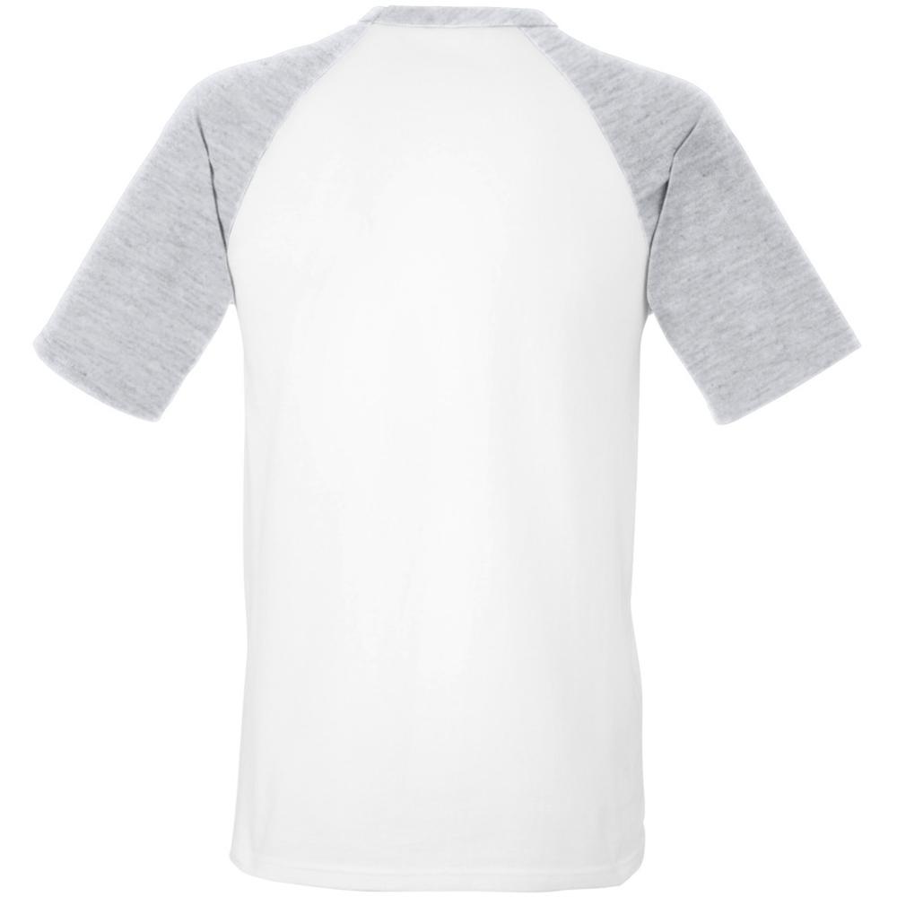 Fruit of the loom mens short sleeve baseball t shirt ebay for Fruits of the loom t shirts