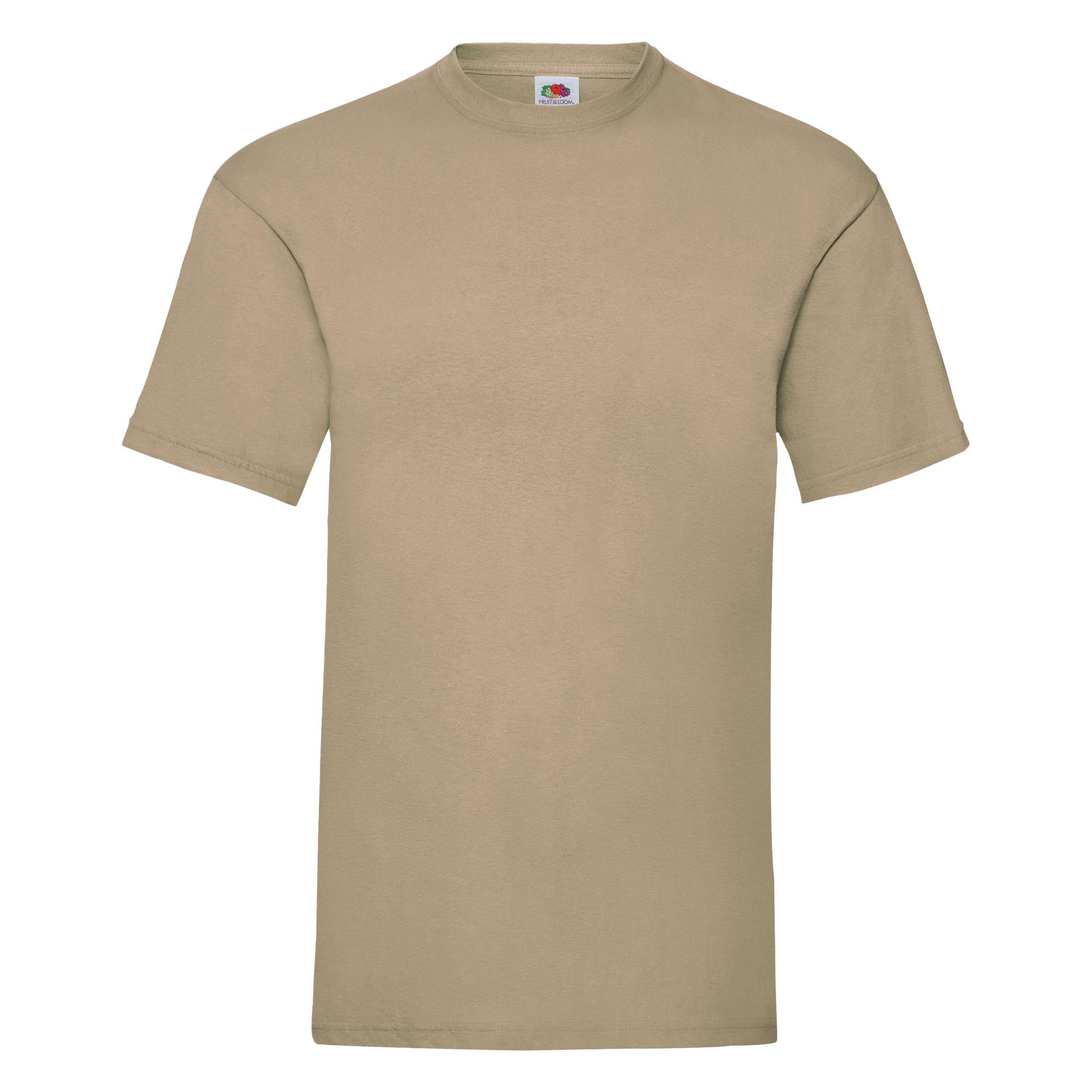 T-shirt-a-manches-courtes-Fruit-Of-The-Loom-100-coton-pour-homme-S-3XL