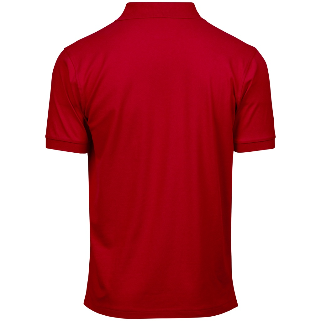 tee jays mens luxury stretch short sleeve polo shirt ebay