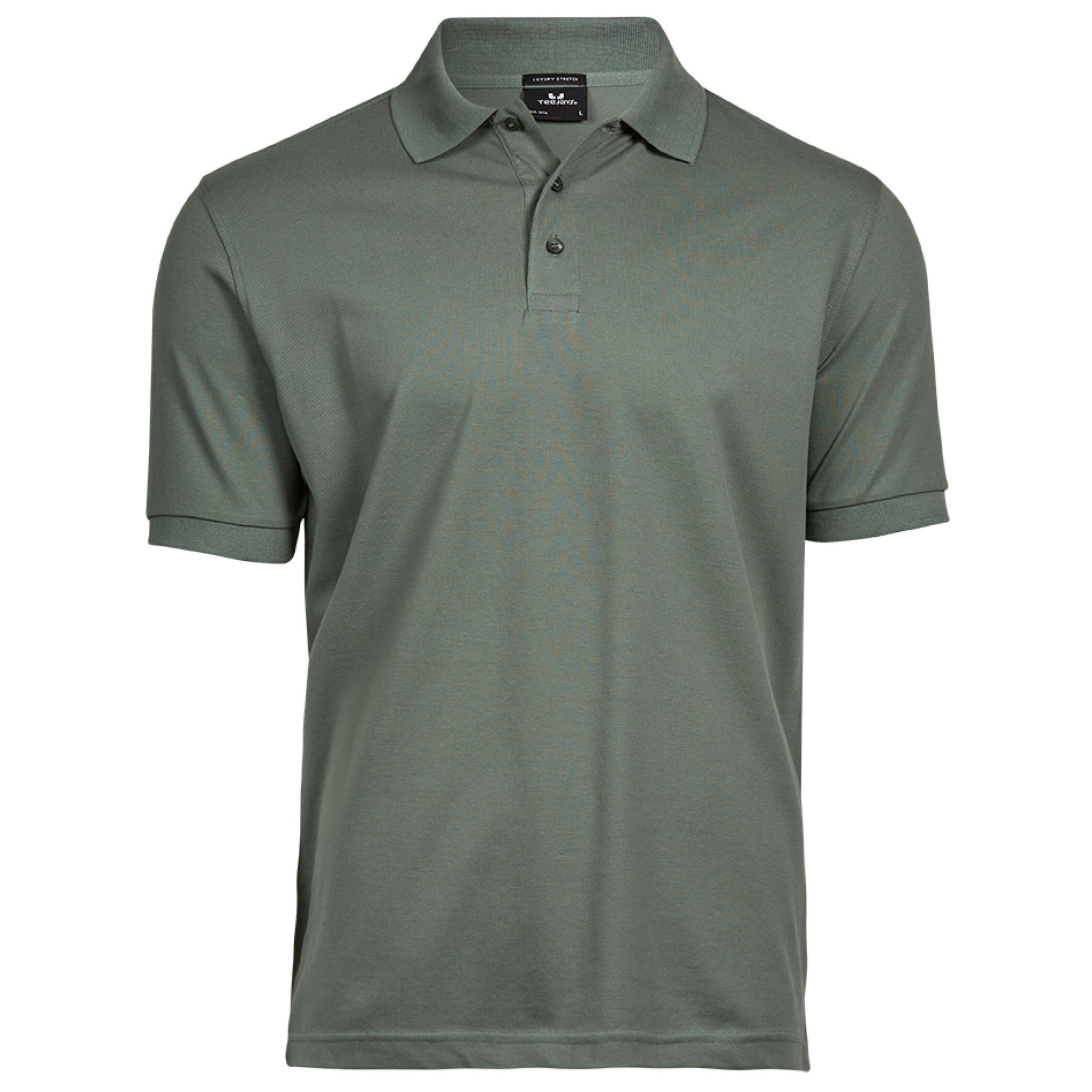 Tee Jays Mens Luxury Stretch Short Sleeve Polo Shirt Ebay