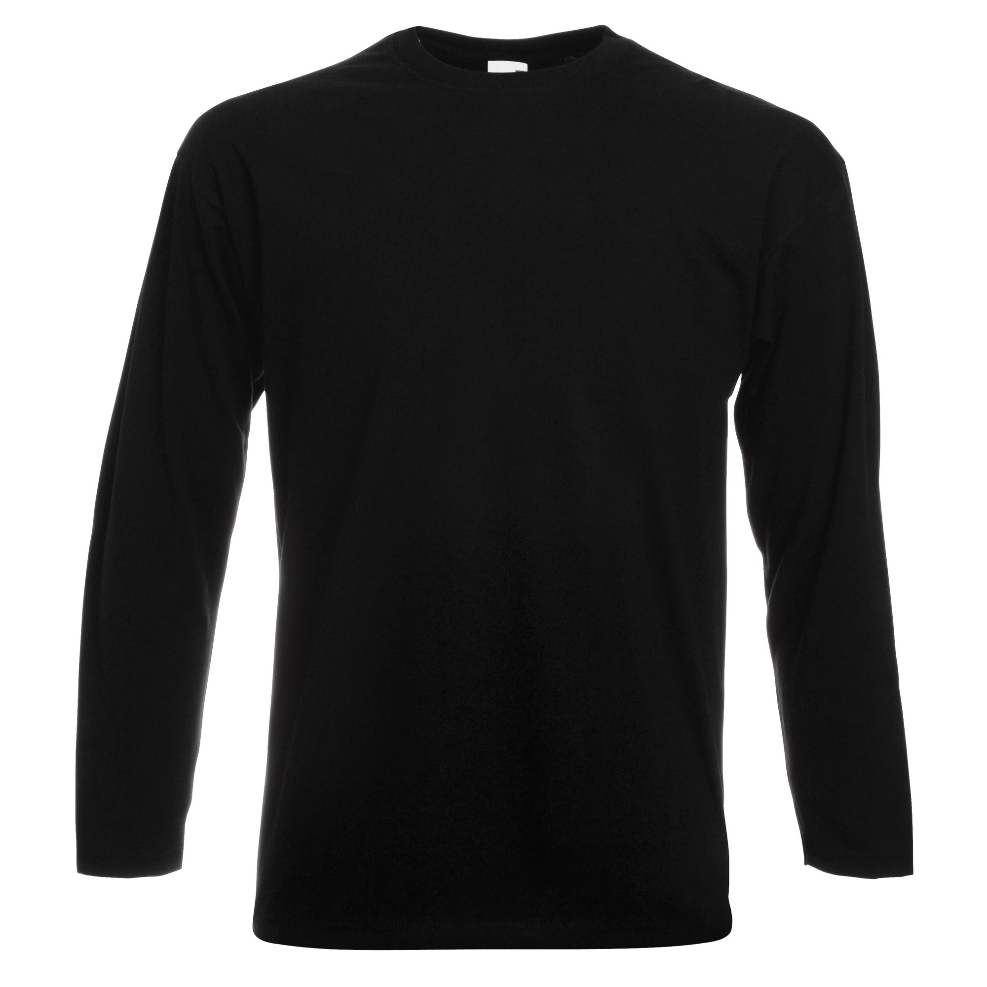 fruit of the loom mens valueweight crew neck long sleeve t. Black Bedroom Furniture Sets. Home Design Ideas
