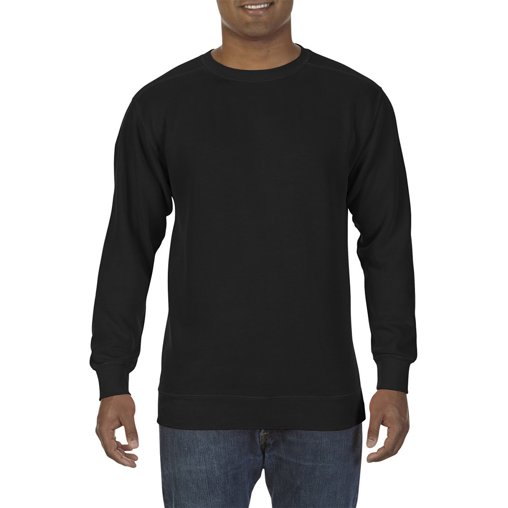 Comfort Colors Adults Unisex Crew Neck Sweatshirt Ebay