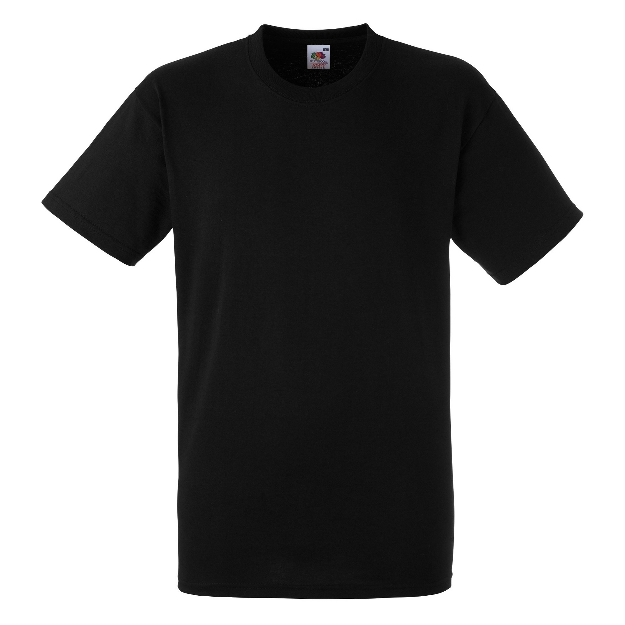 fruit of the loom mens heavy weight cotton short sleeve t shirt tee ebay. Black Bedroom Furniture Sets. Home Design Ideas