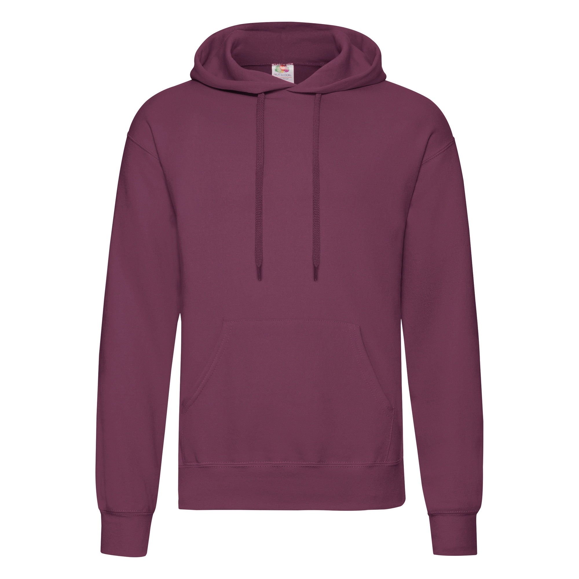 fruit of the loom mens hooded sweatshirt hoodie ebay. Black Bedroom Furniture Sets. Home Design Ideas
