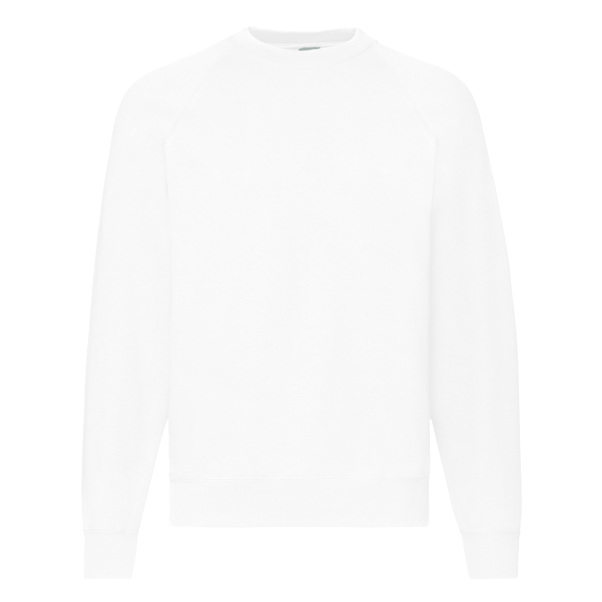 fruit of the loom mens raglan sleeve belcoro sweatshirt s xxl ebay. Black Bedroom Furniture Sets. Home Design Ideas