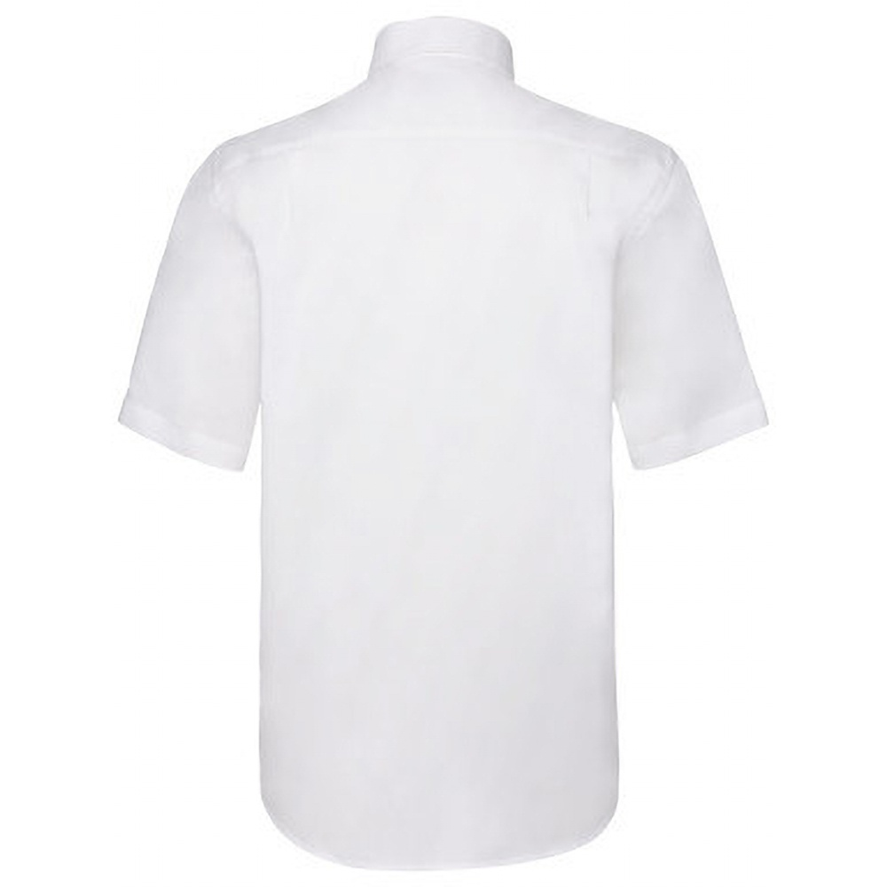 Fruit of the loom mens short sleeve oxford shirt for Mens short sleeve oxford shirt