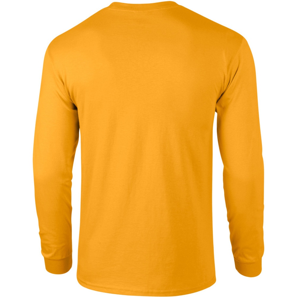 Gildan mens plain crew neck ultra cotton long sleeve t for Gildan v neck t shirts for men