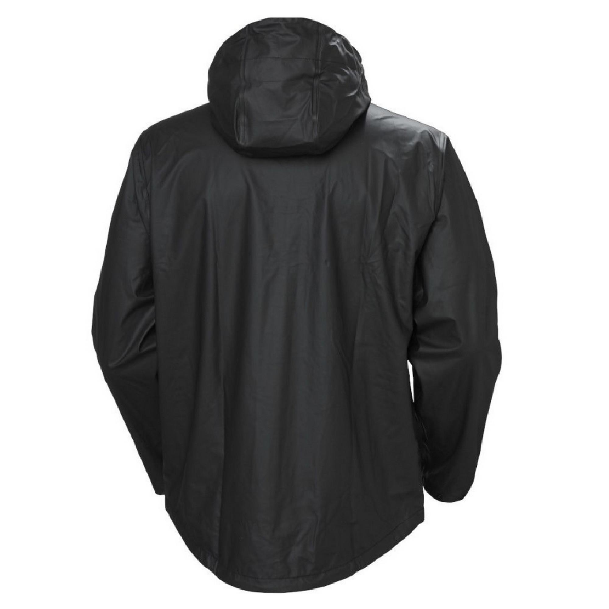 helly hansen voss casual zip up hooded waterproof jacket coat mens workwear ebay. Black Bedroom Furniture Sets. Home Design Ideas