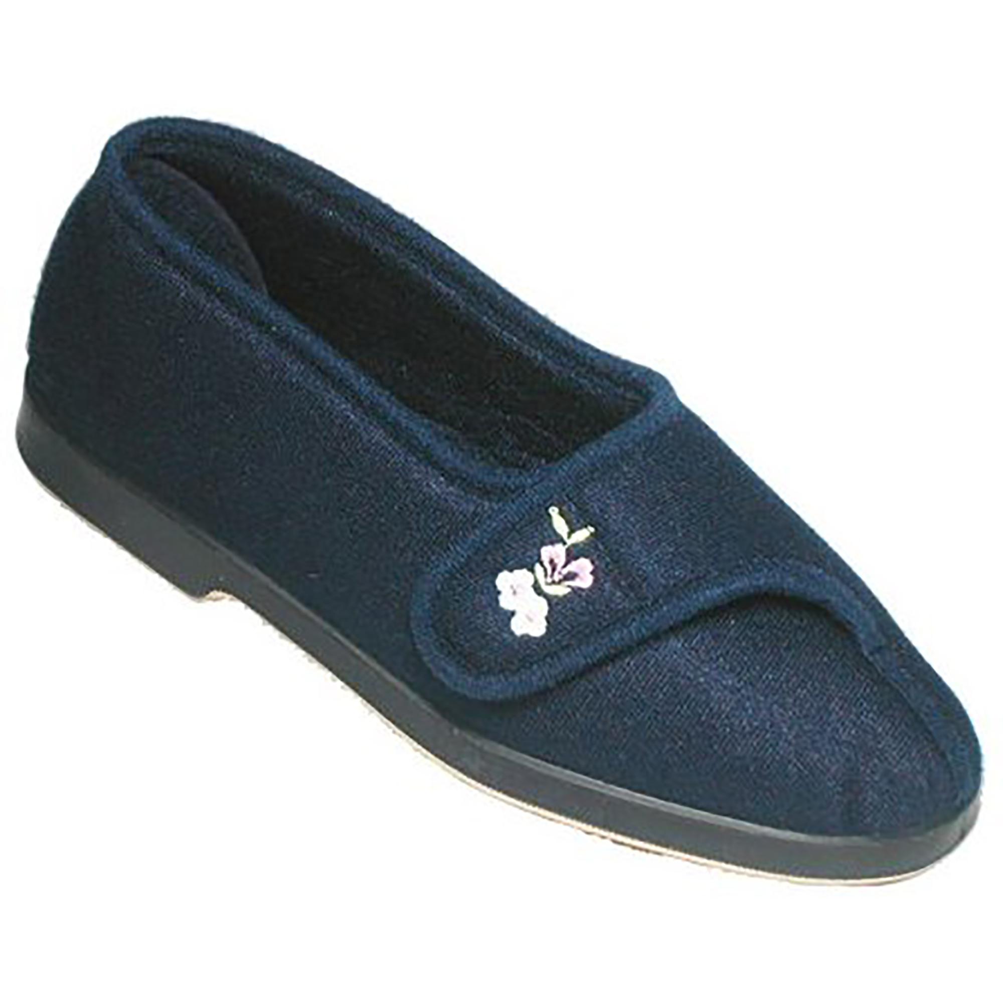 GBS Winnie Wide Fit Womens /Ladies Indoor House Slipper Shoes /Slippers Szs 5-11 | EBay
