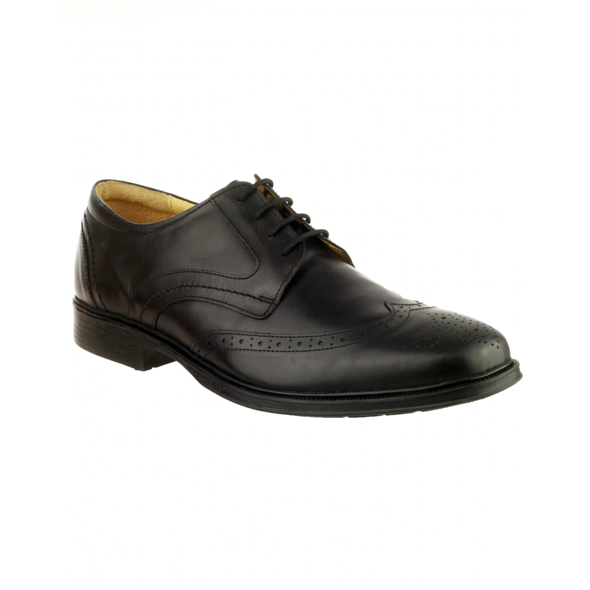 Cotswold Mickleton Mens Leather Lace Up Gibson Formal Dress Oxford Style Shoes | EBay