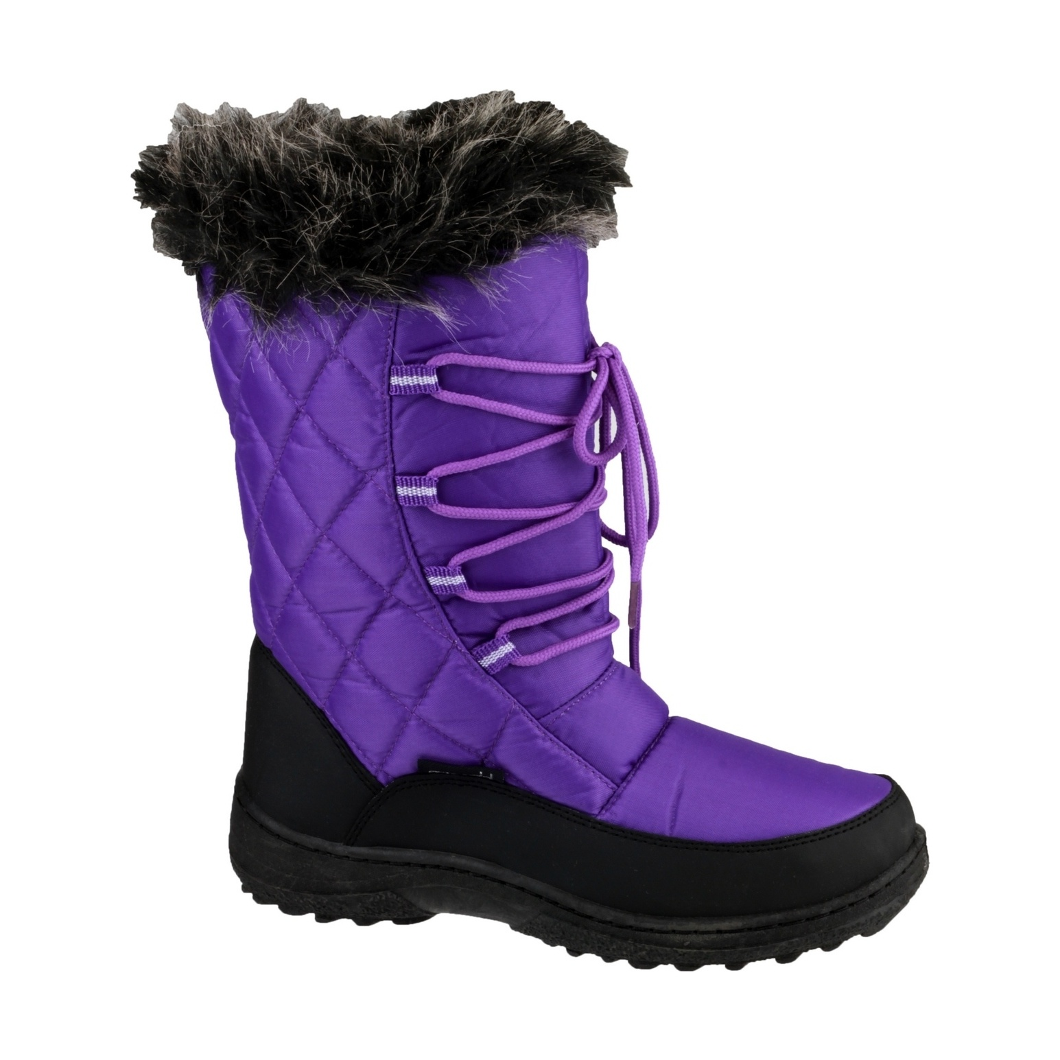 cotswold gale womens waterproof lace up snow boots