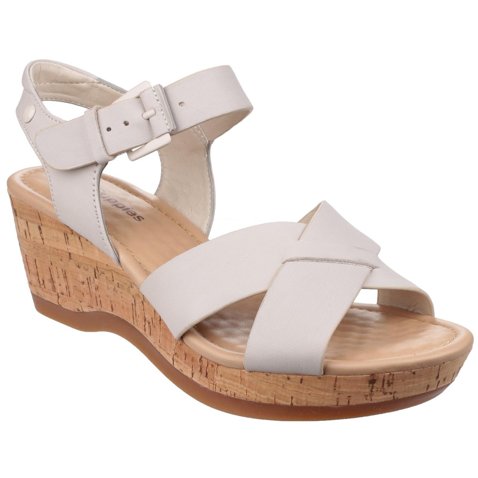 Womens sandals ebay - Hush Puppies Womens Ladies Eva Farris Cross Strap