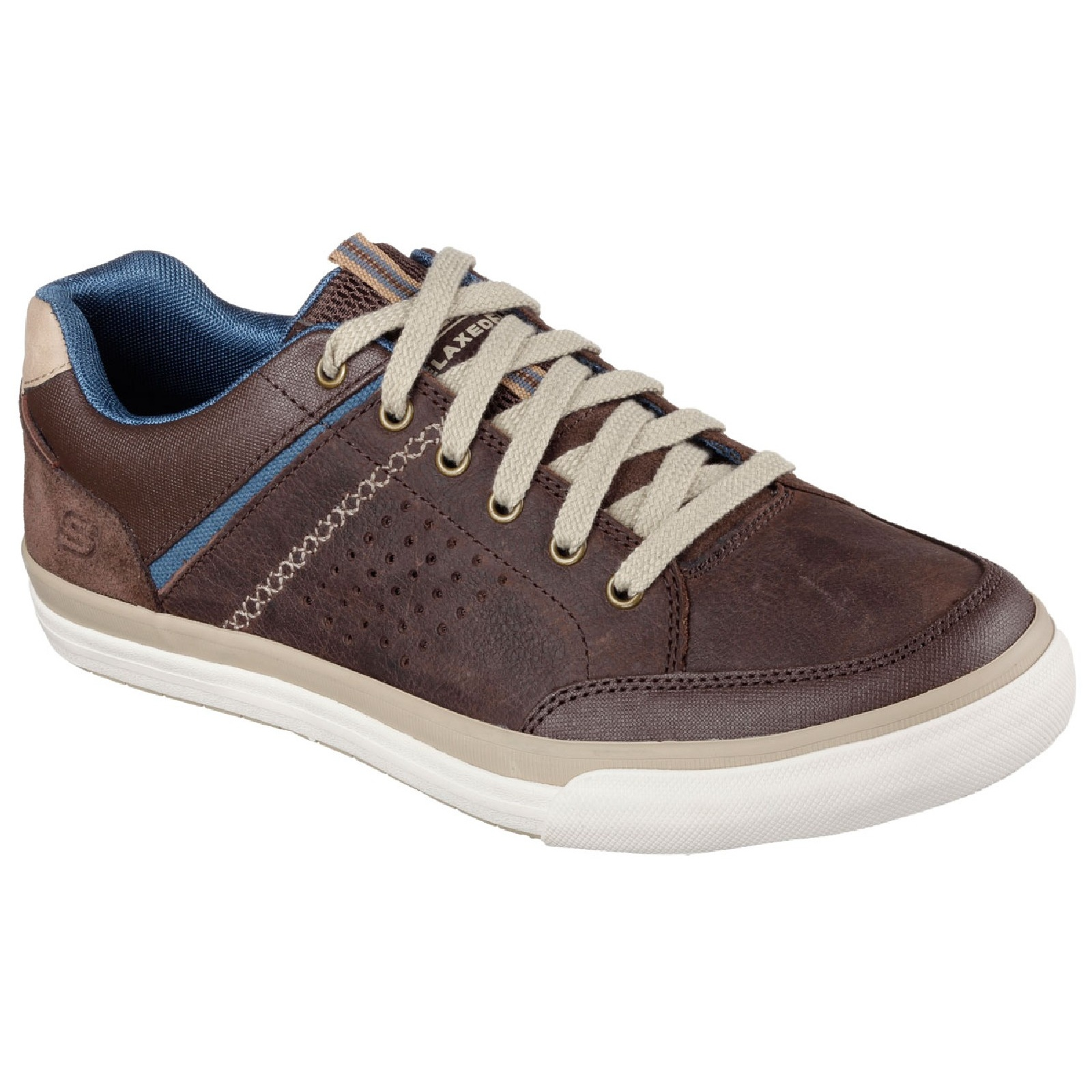 skechers mens diamondback rendol relaxed fit casual shoes
