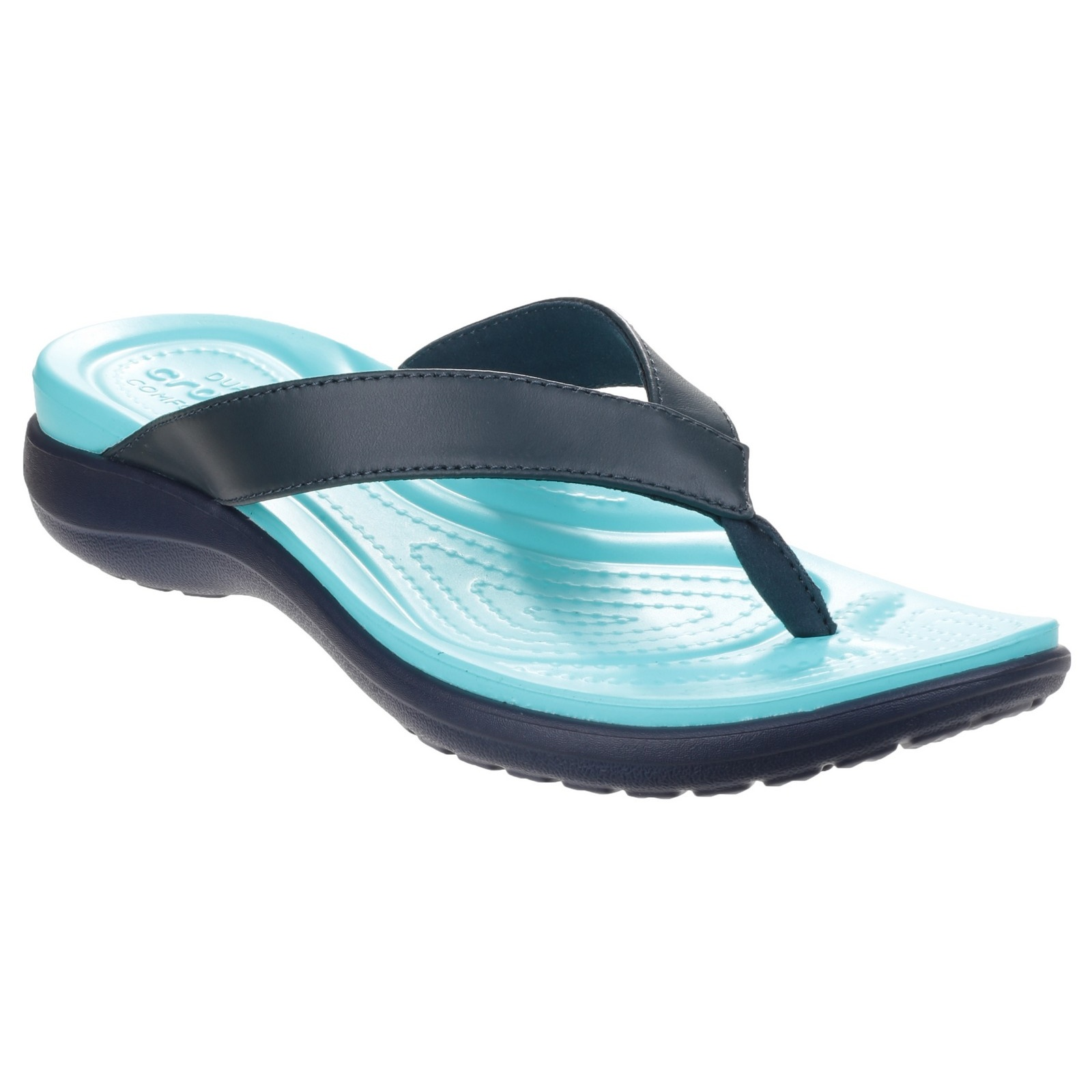 crocs womens ladies capri v summer flip flops ebay. Black Bedroom Furniture Sets. Home Design Ideas