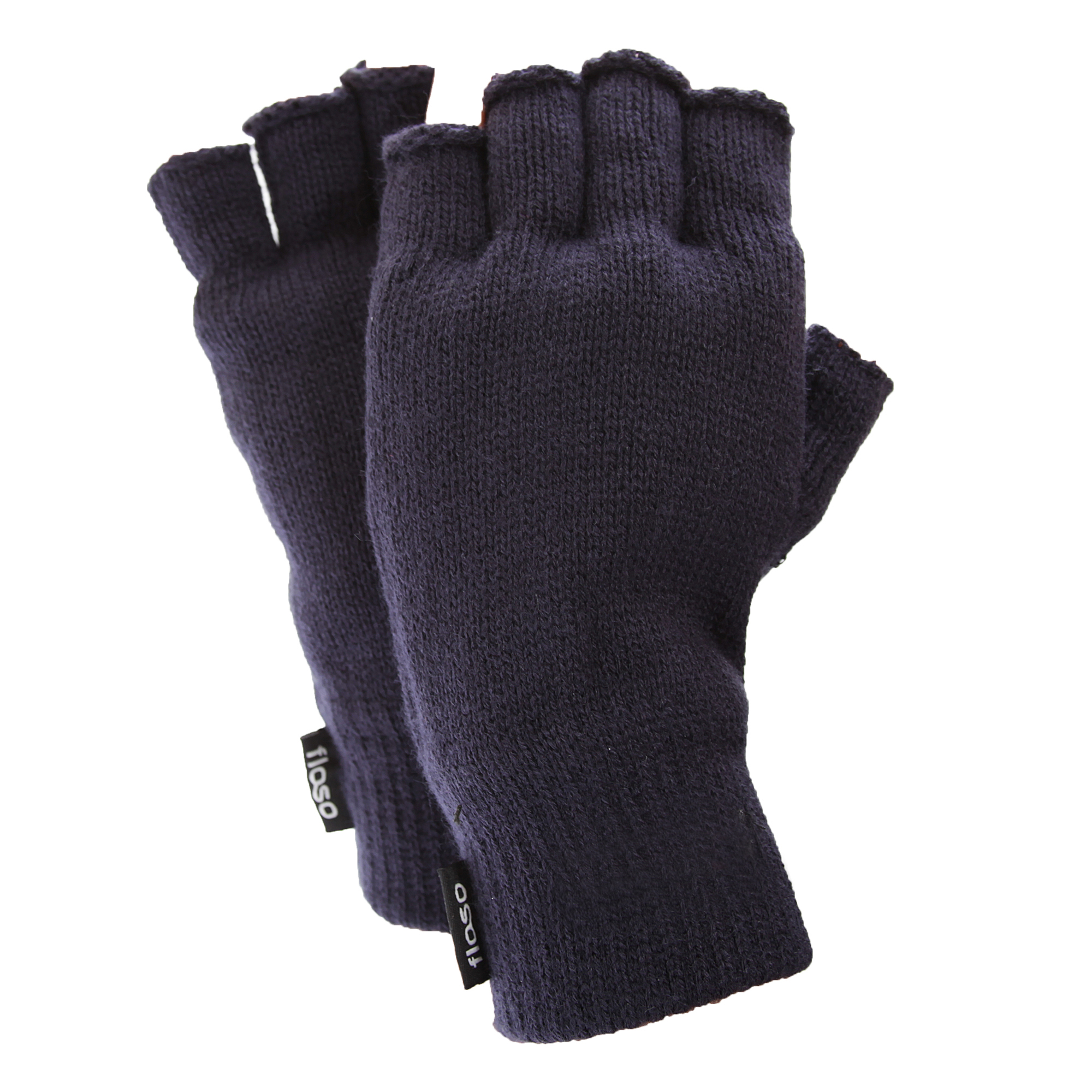 Fingerless gloves thinsulate - Floso Mens Thinsulate Thermal Winter Warm Casual Fingerless