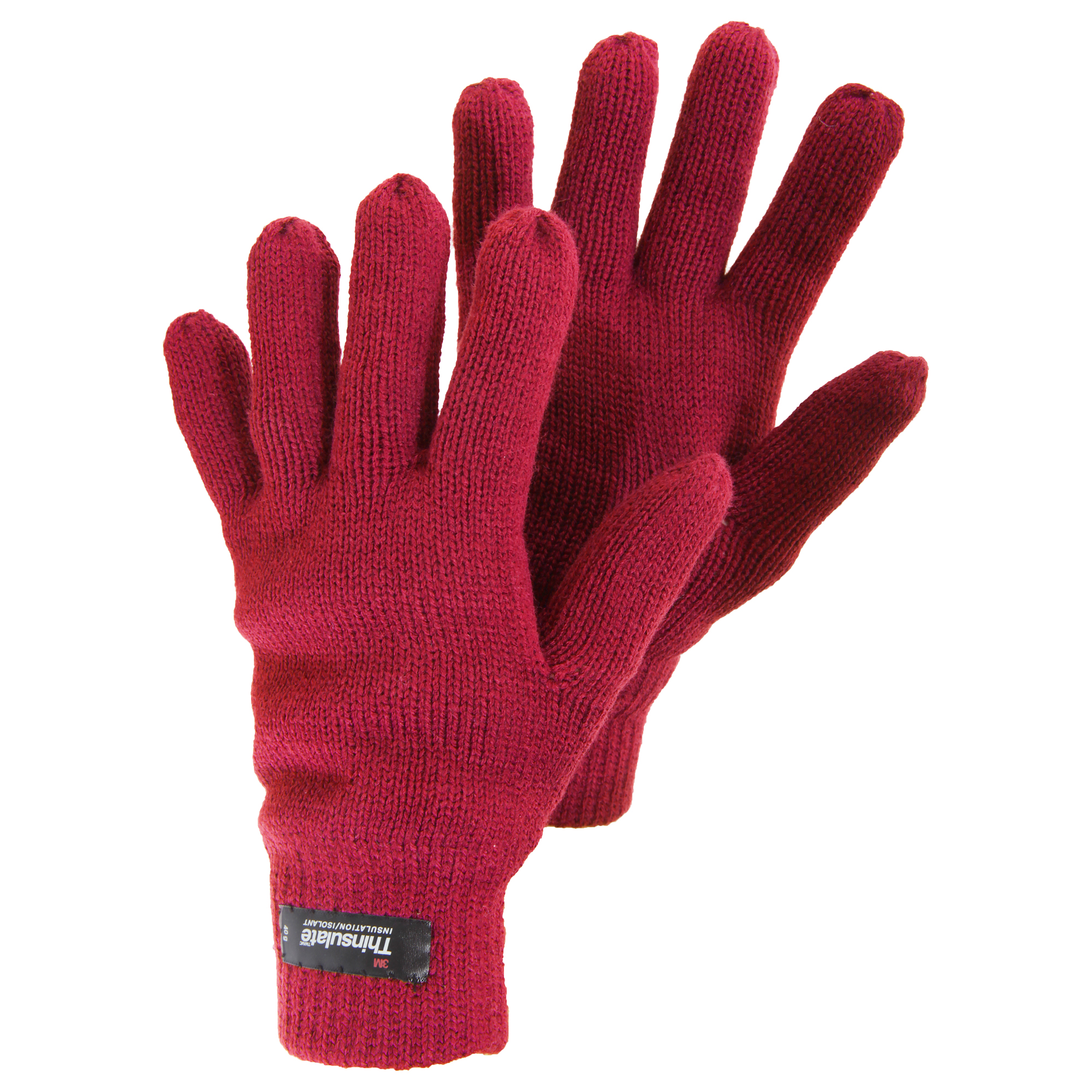 womensladies knitted thinsulate thermal winter gloves ebay