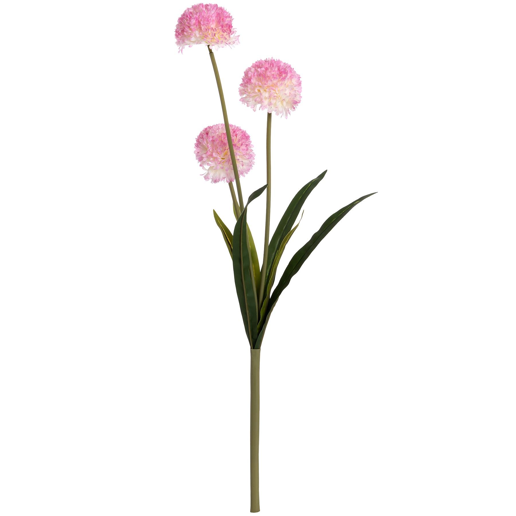 Hill Interiors Artificial Pompom Dahlia Flower Stem | eBay
