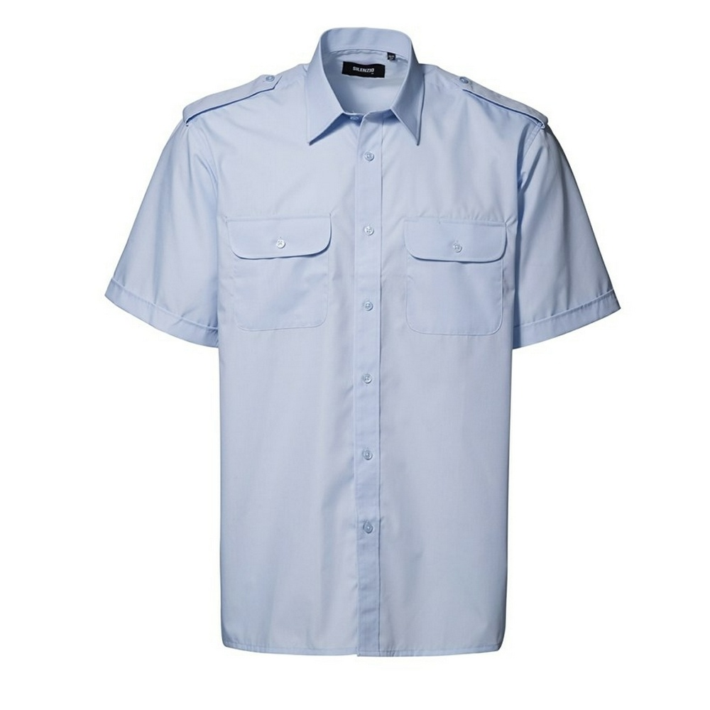 Id Mens Short Sleeve Pilot Uniform Shirt Ebay