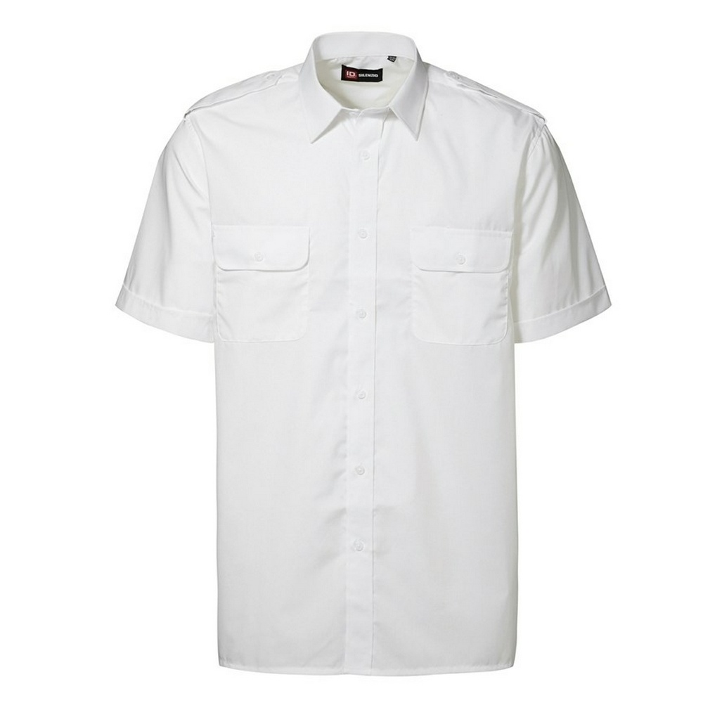 Id Mens Short Sleeve Pilot Uniform Shirt