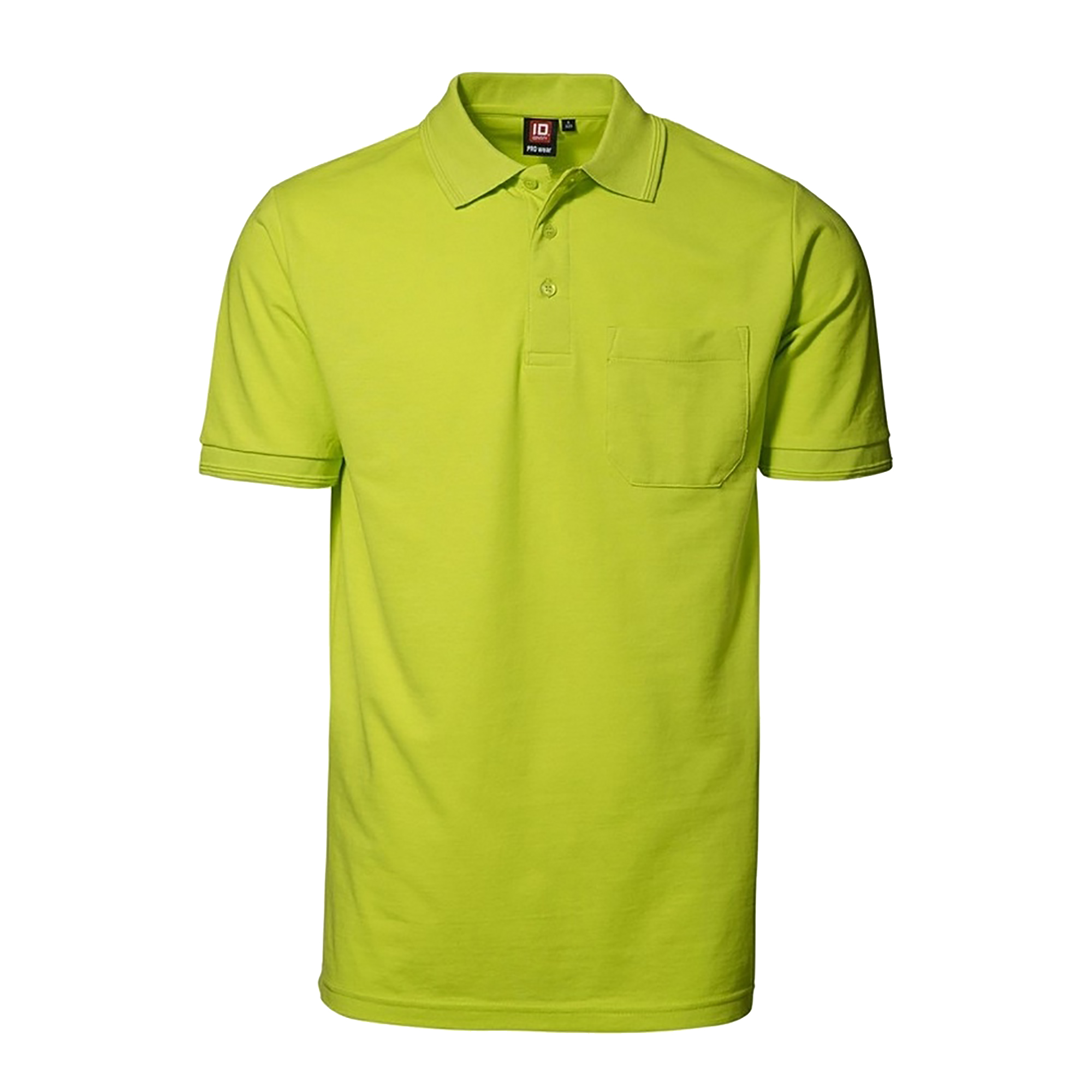Id mens pro wear short sleeve polo shirt with pocket ebay for Mens polo shirts online