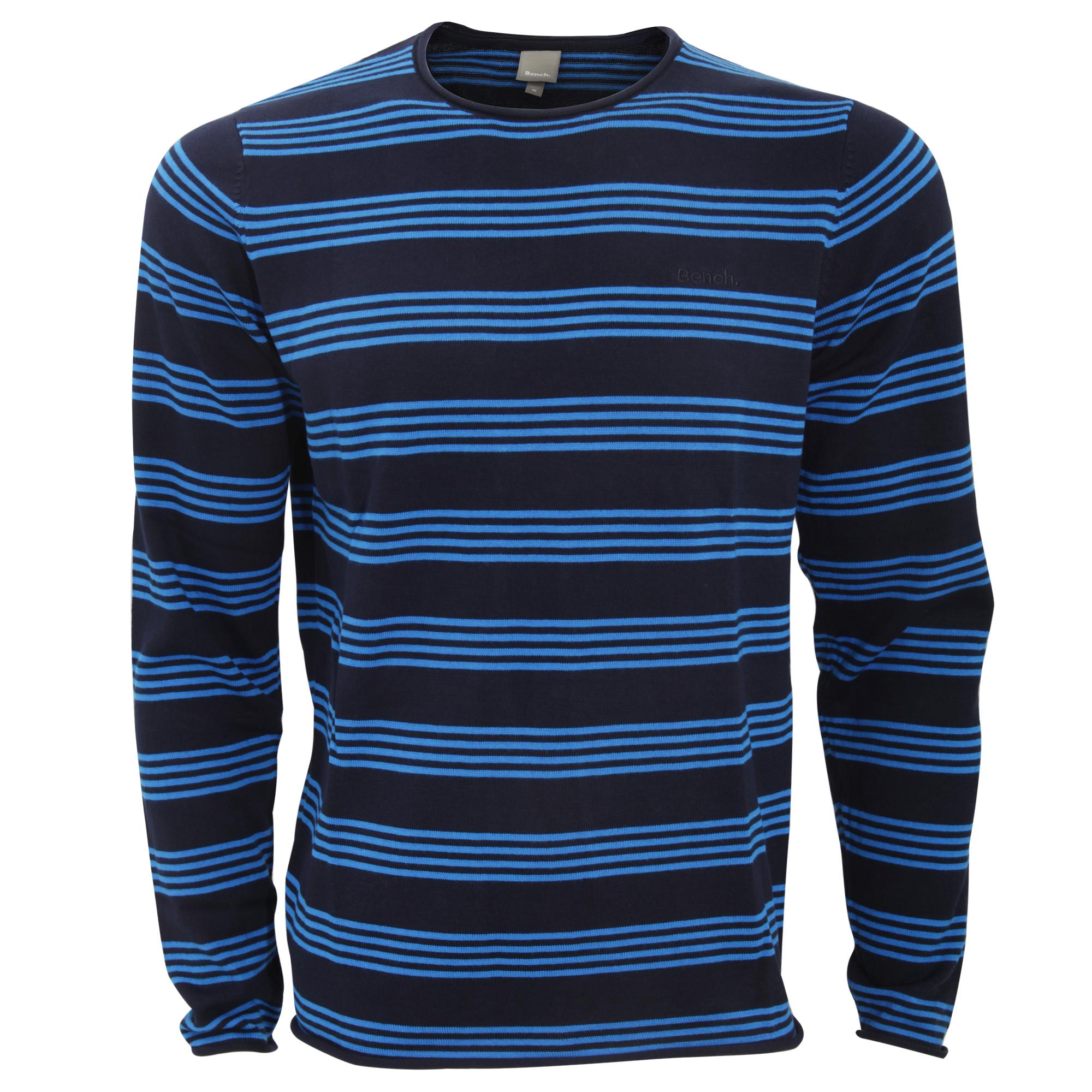bench herren adour langarm streifen pullover sweater ebay. Black Bedroom Furniture Sets. Home Design Ideas