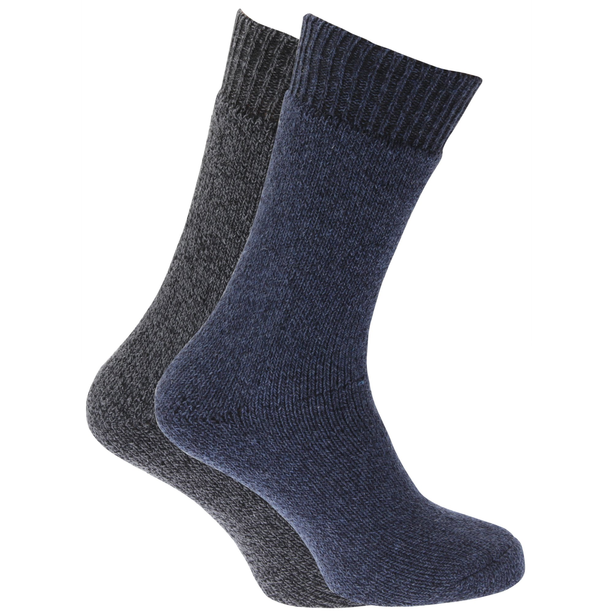 mens heavy weight boot socks with terry cushioning pack