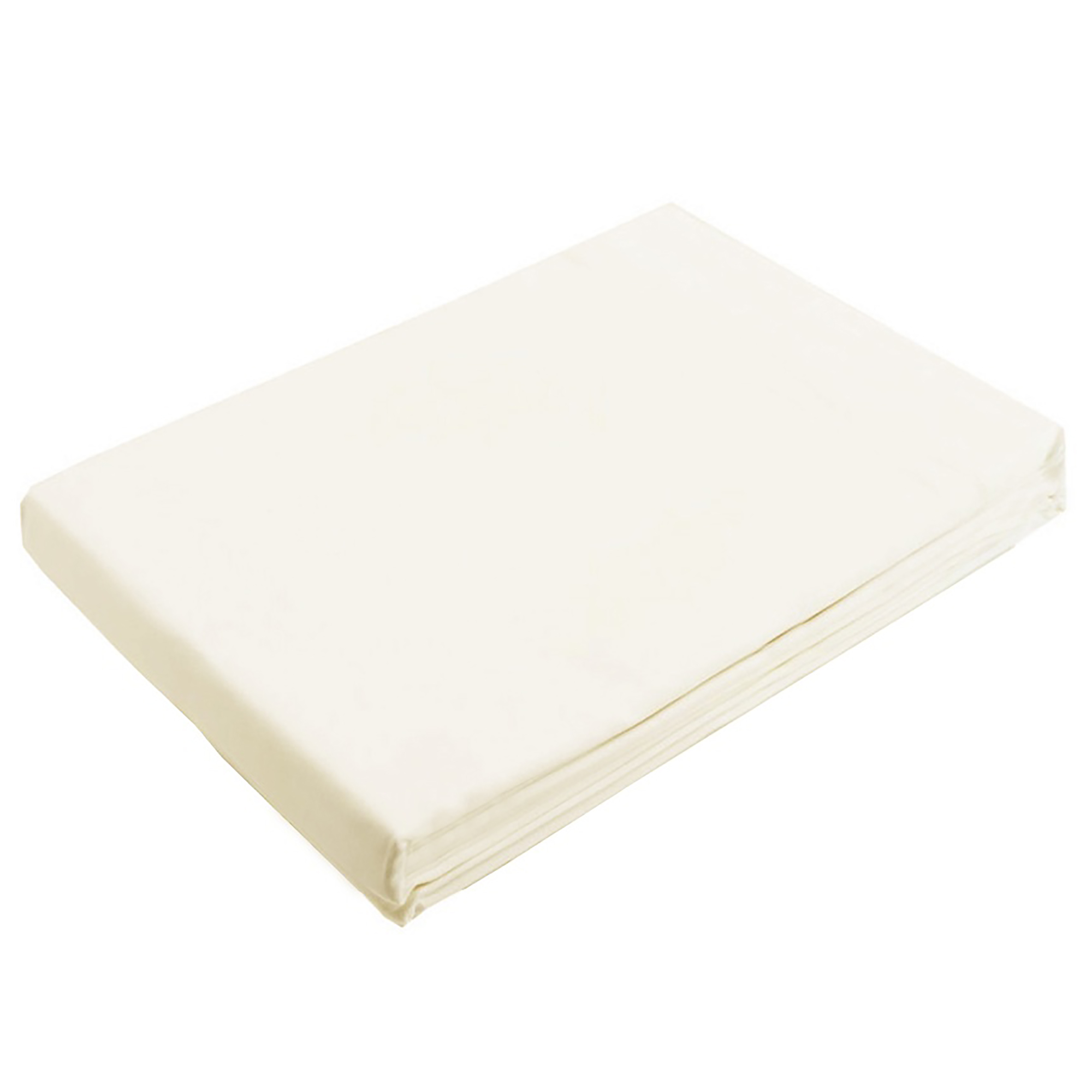 Plain 100% Egyptian Cotton Flat Bed Sheet Mattress Topper