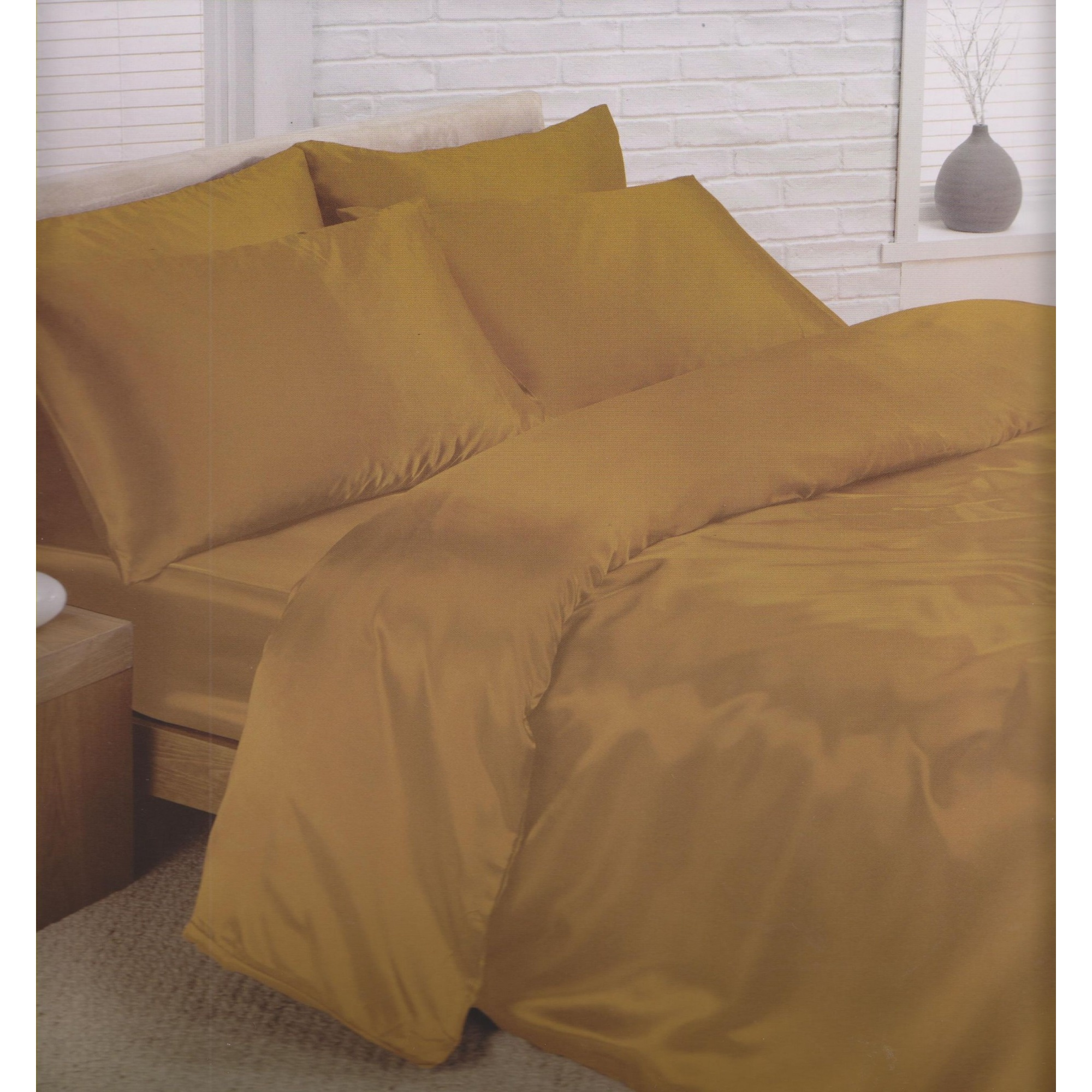 Charisma Satin Bedding Set Duvet Comforter Cover Fitted