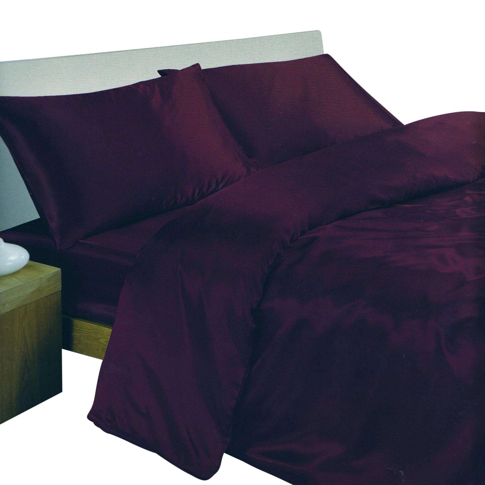 Ensemble de literie en satin parure de lit et drap housse for Drap housse lit