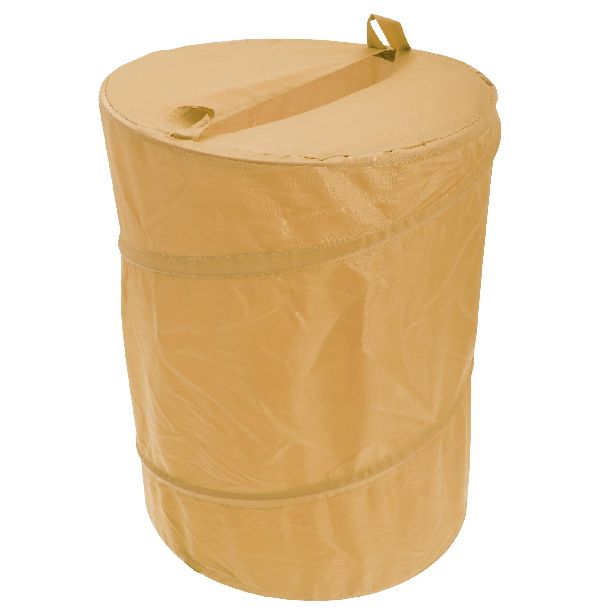 Waterline Plain Pop Up Laundry Basket Storage Hamper 5