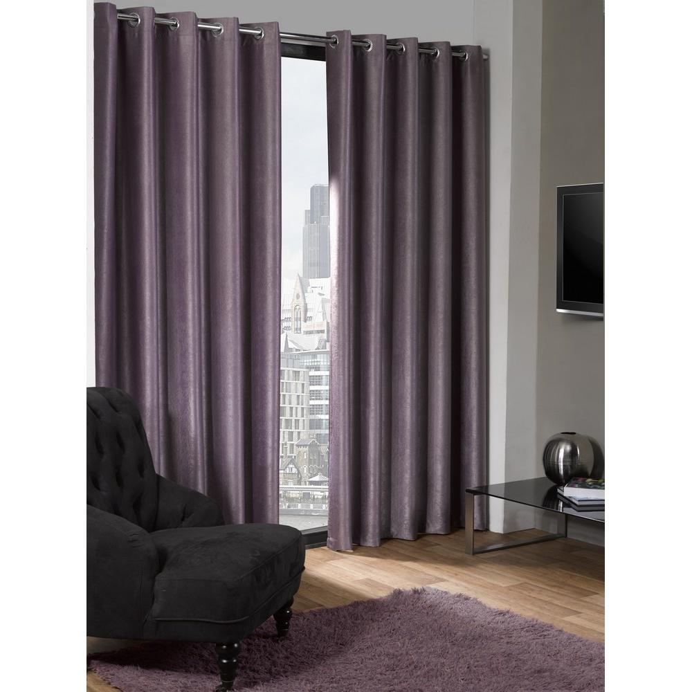 ensemble de rideaux thermiques oeillets logan ebay. Black Bedroom Furniture Sets. Home Design Ideas