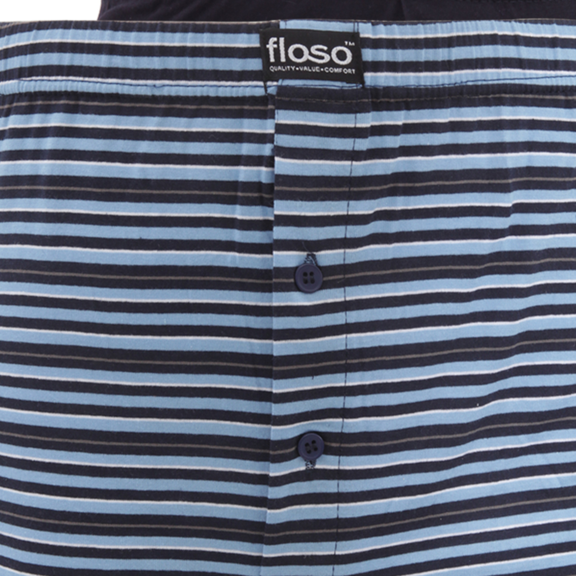 floso boxers lot de 6 homme ebay. Black Bedroom Furniture Sets. Home Design Ideas