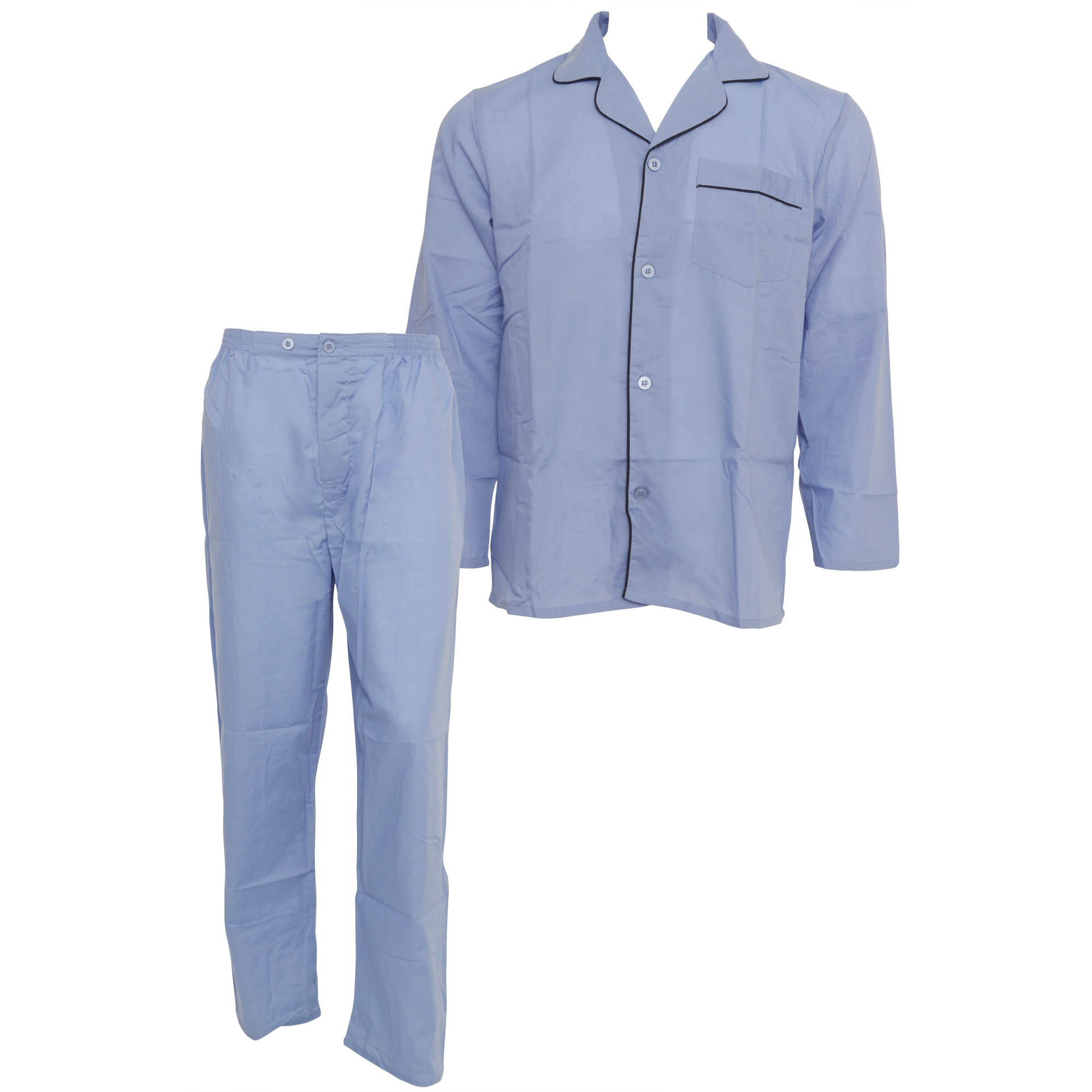 Product Features TOP - This soft pajama set features a full button down top that is easy.