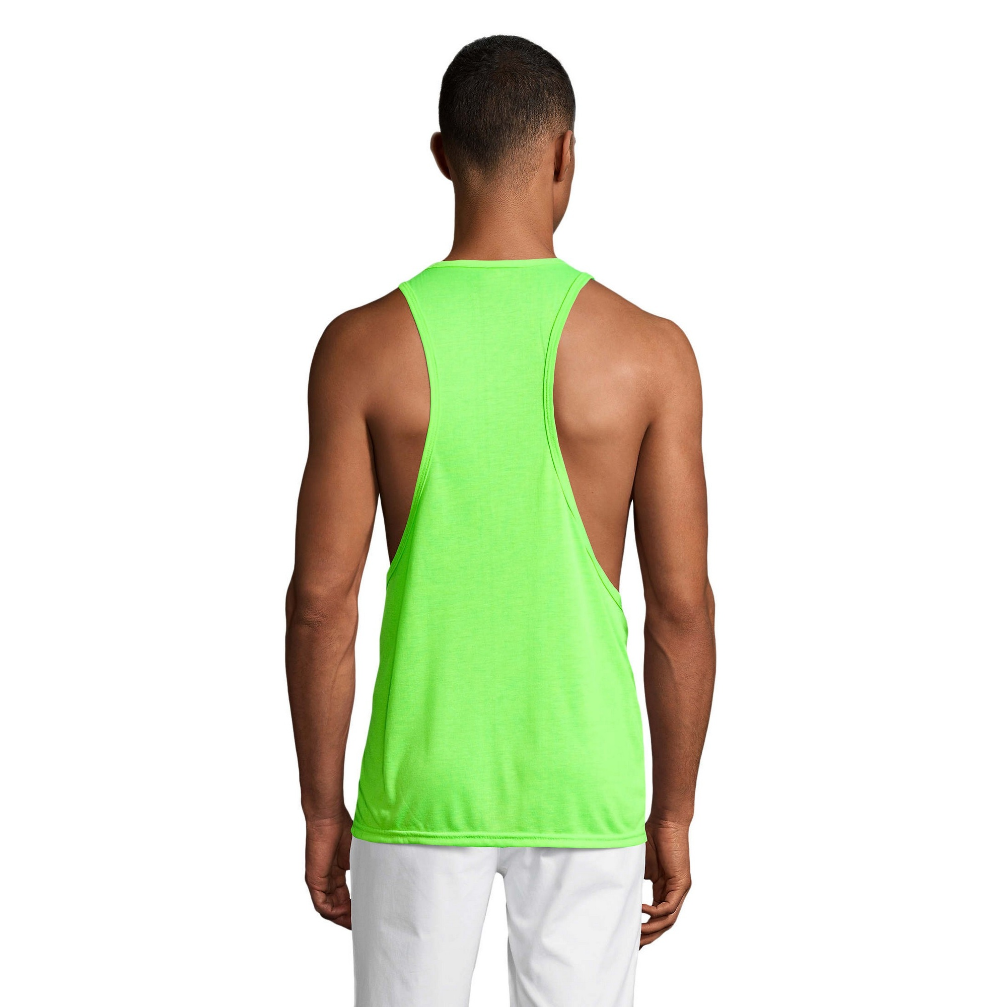 Sols mens womens jamaica sleeveless tank vest top summer t for Best t shirts for summer