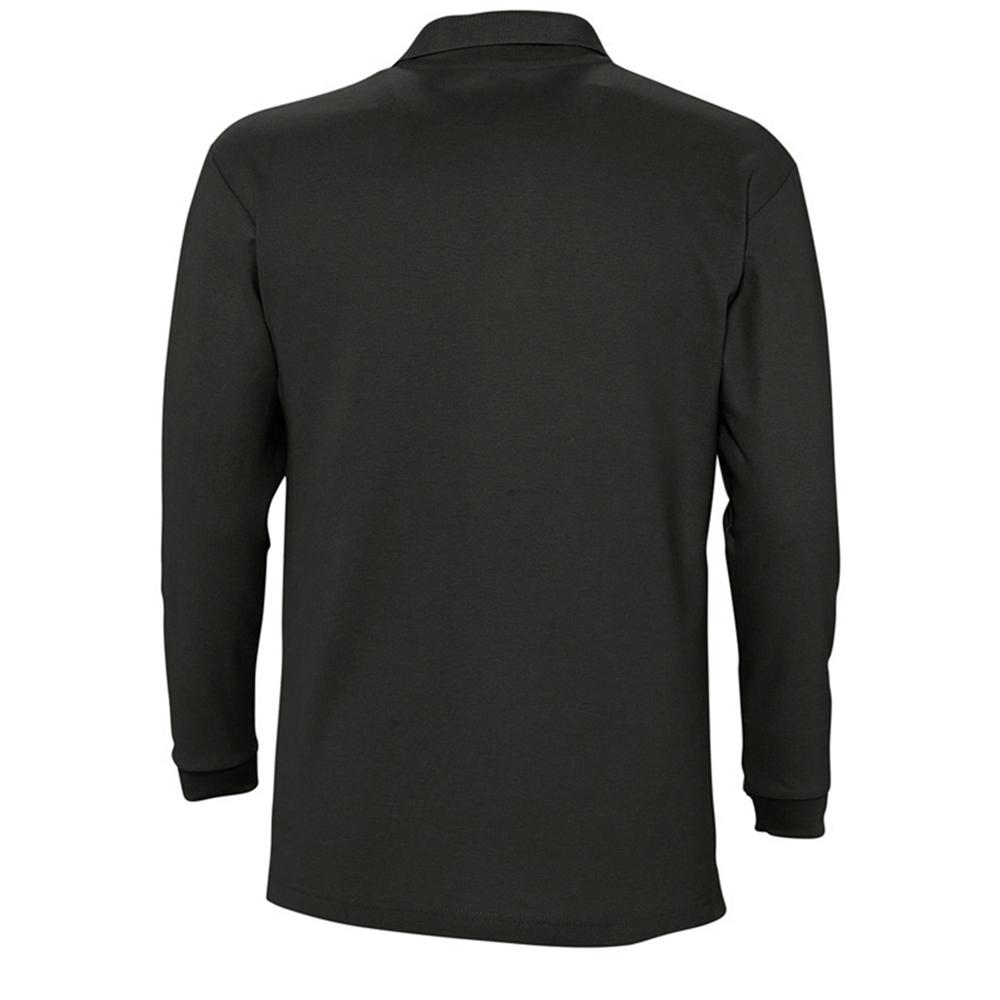 Sols mens winter ii long sleeve pique cotton casual plain for Mens long sleeve casual cotton shirts