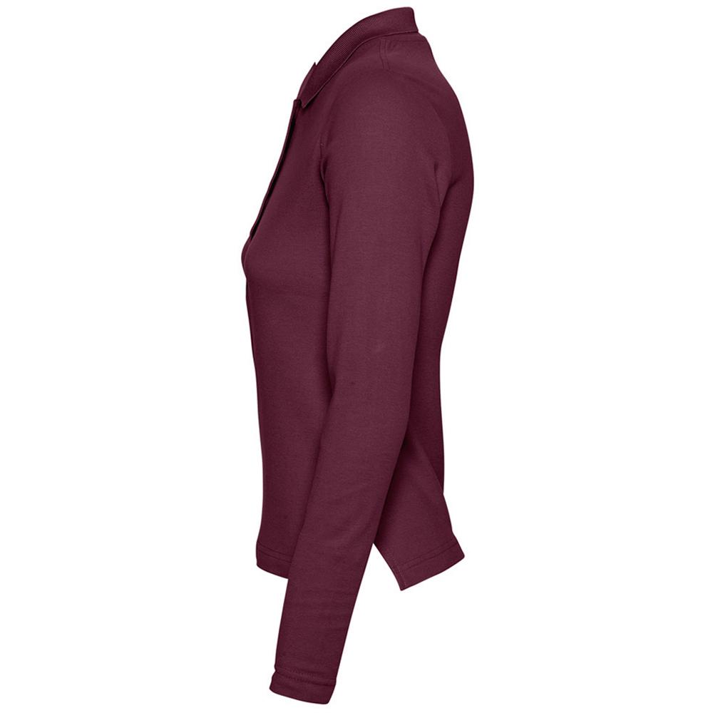 Sols Womens Ladies Podium Long Sleeve Pique Cotton Polo Shirt