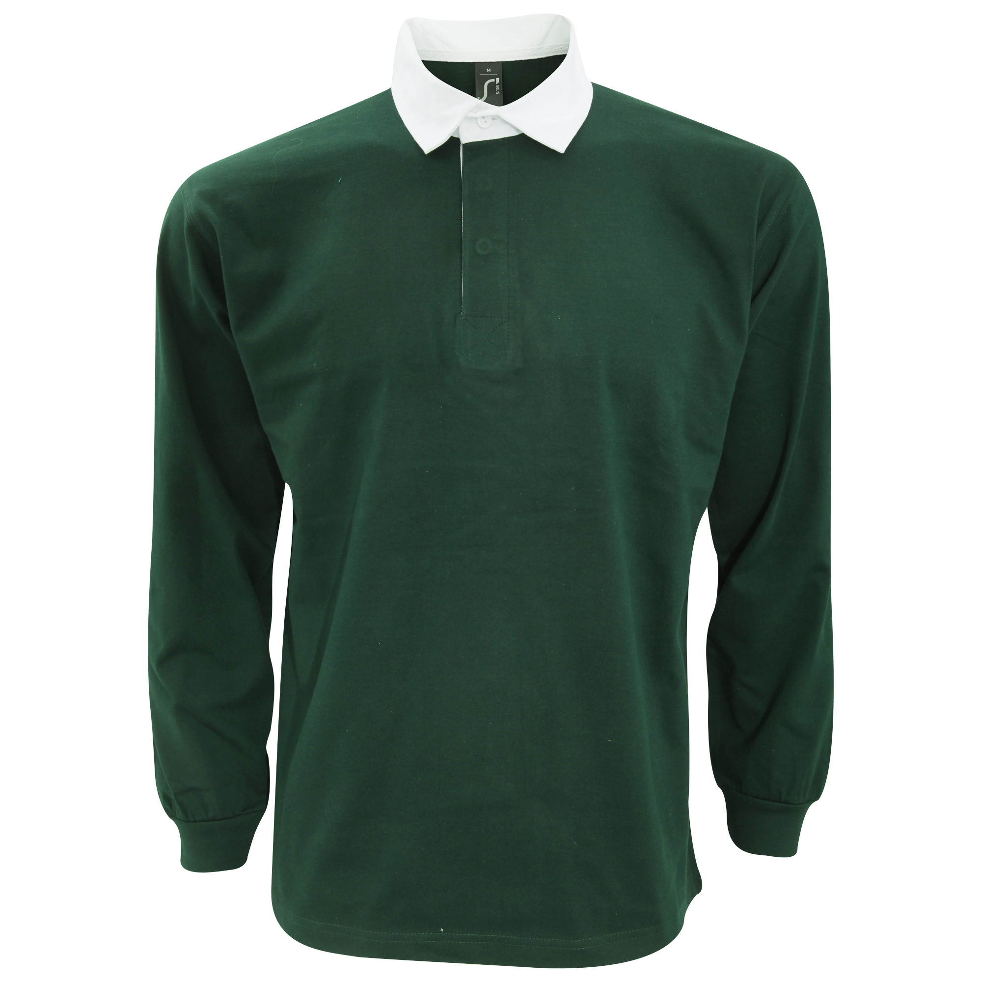 Sols Mens Pack Long Sleeve Rugby Polo Shirt Ebay