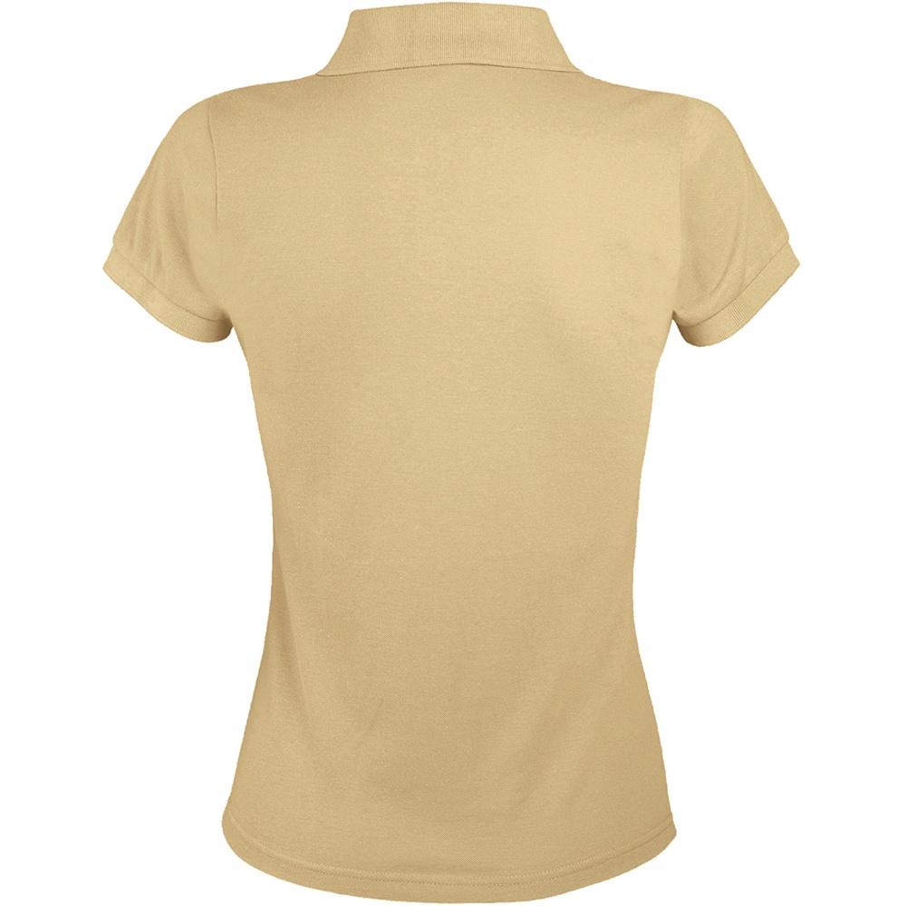 Sols womens ladies prime pique polo shirt ebay for Ladies pique polo shirts