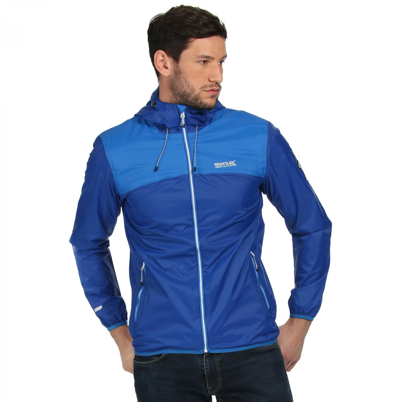 Regatta Great Outdoors Mens Dangelo Lightweight Waterproof Jacket ...