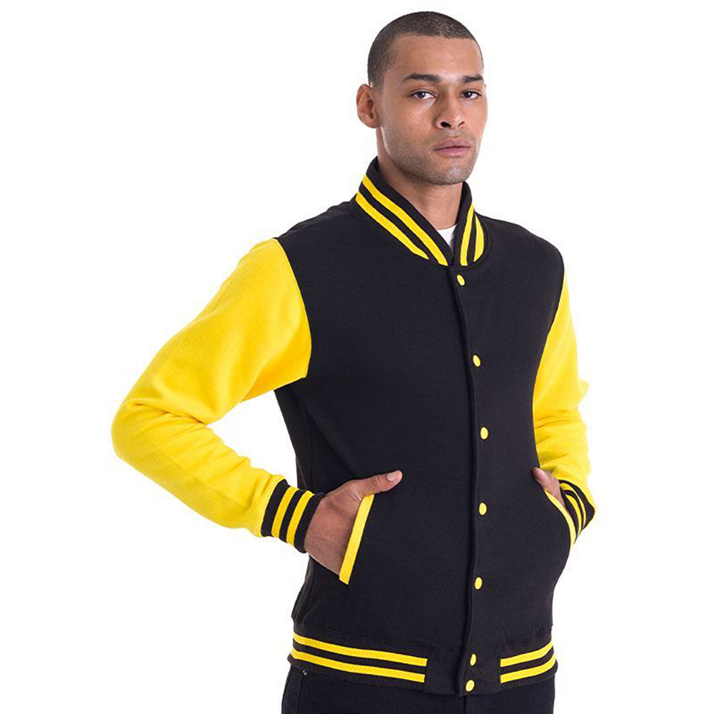 Awdis Unisex Mens Womens Casual Fashion Varsity Baseball College Jacket Ebay